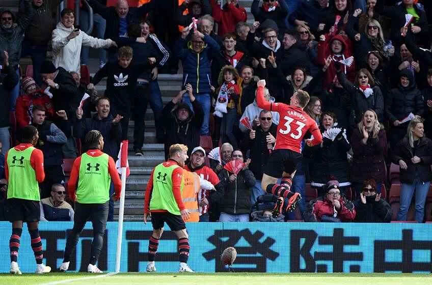 Southampton 3-3 Bournemouth: Premier League - Player ...