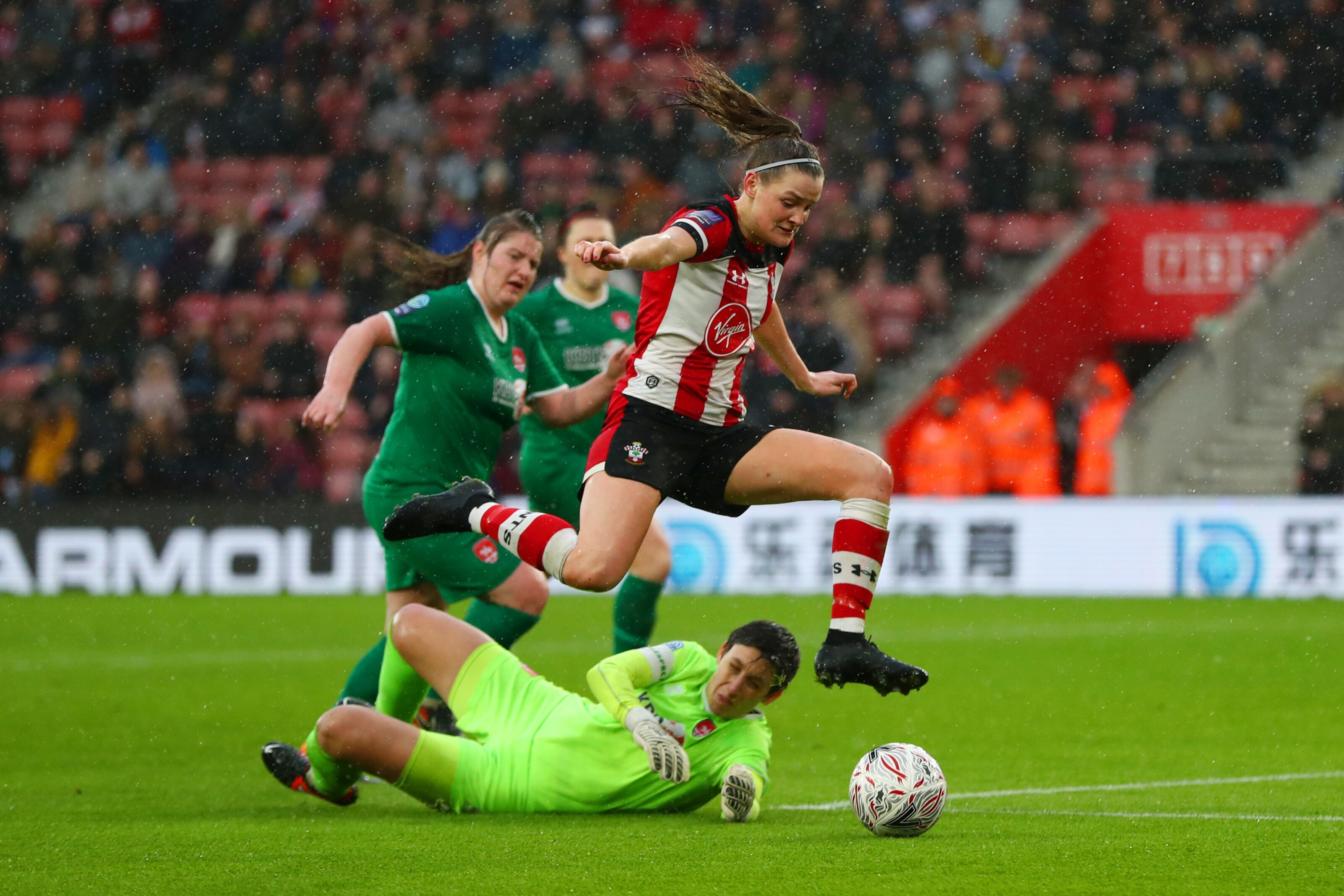 Southampton: Saints Women make St Mary's debut in front of big crowd