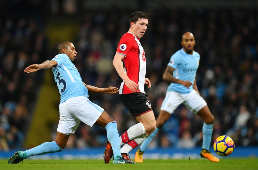 Image result for fernandinho city 2-1 southampton