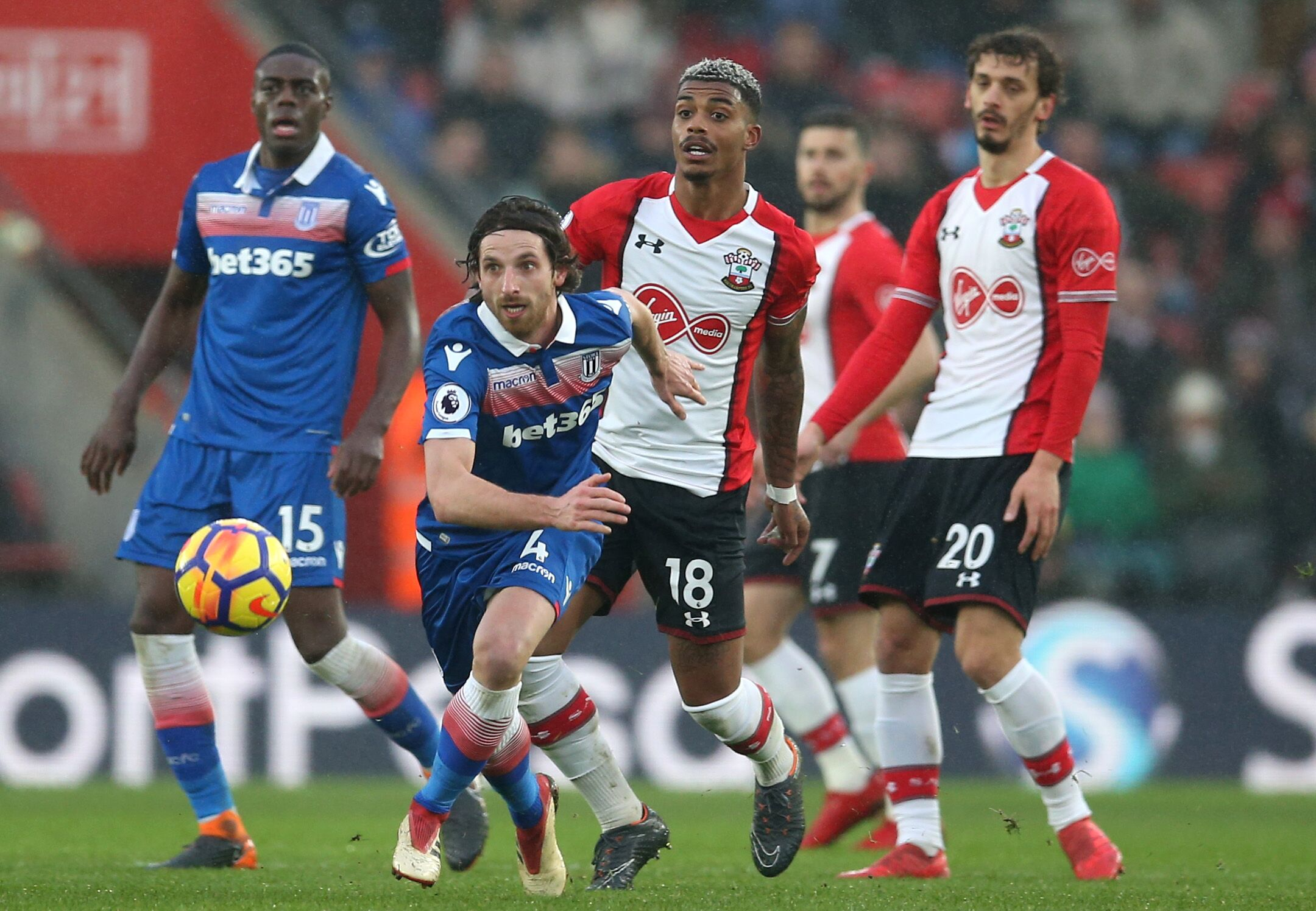 Image result for southampton 0-0 stoke city 2018