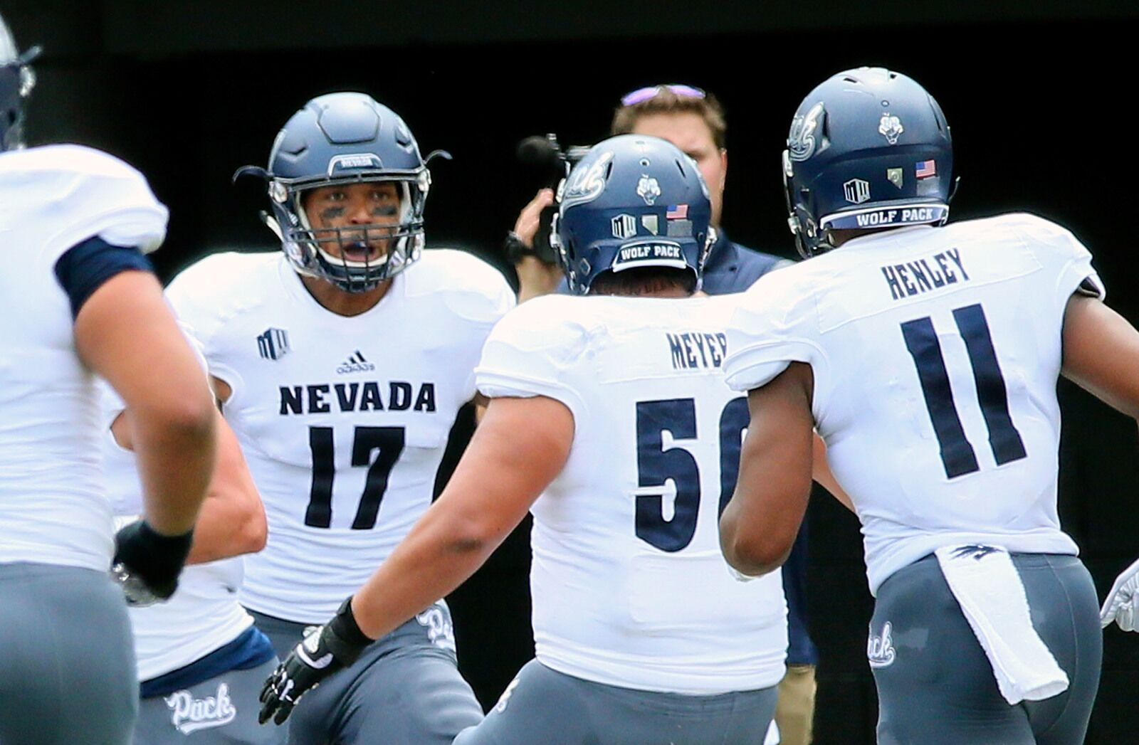 promo code 9a0f8 a4043 Nevada Football: Wolf Pack beat Purdue on wild 56-yard field ...