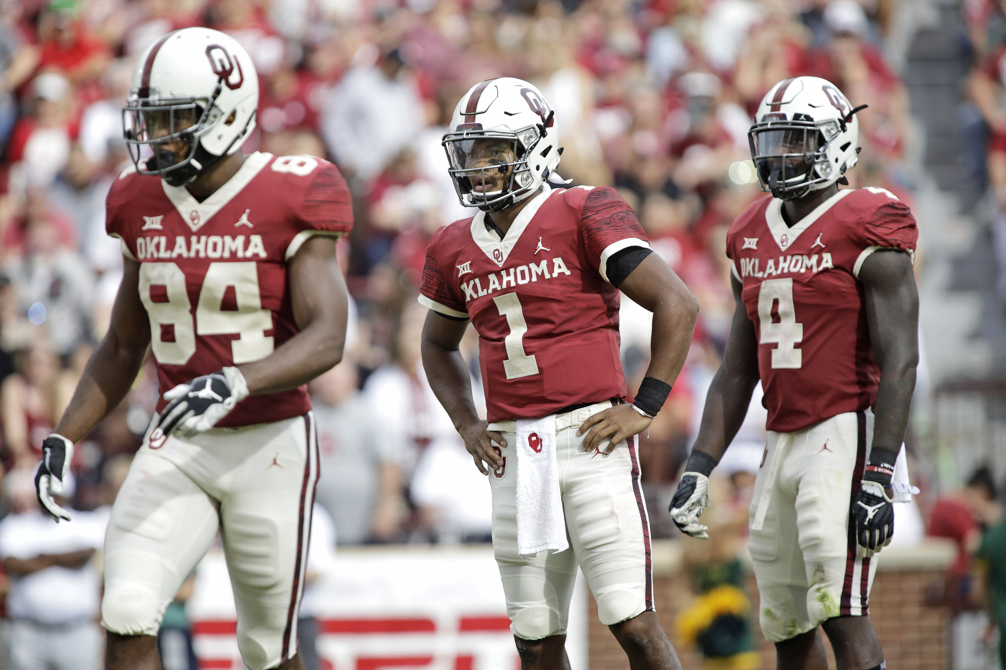Oklahoma Sooners Qb >> Flipboard: Michaelcollins: No. 9 Oklahoma rebounds from only loss with 52-27 win at TCU