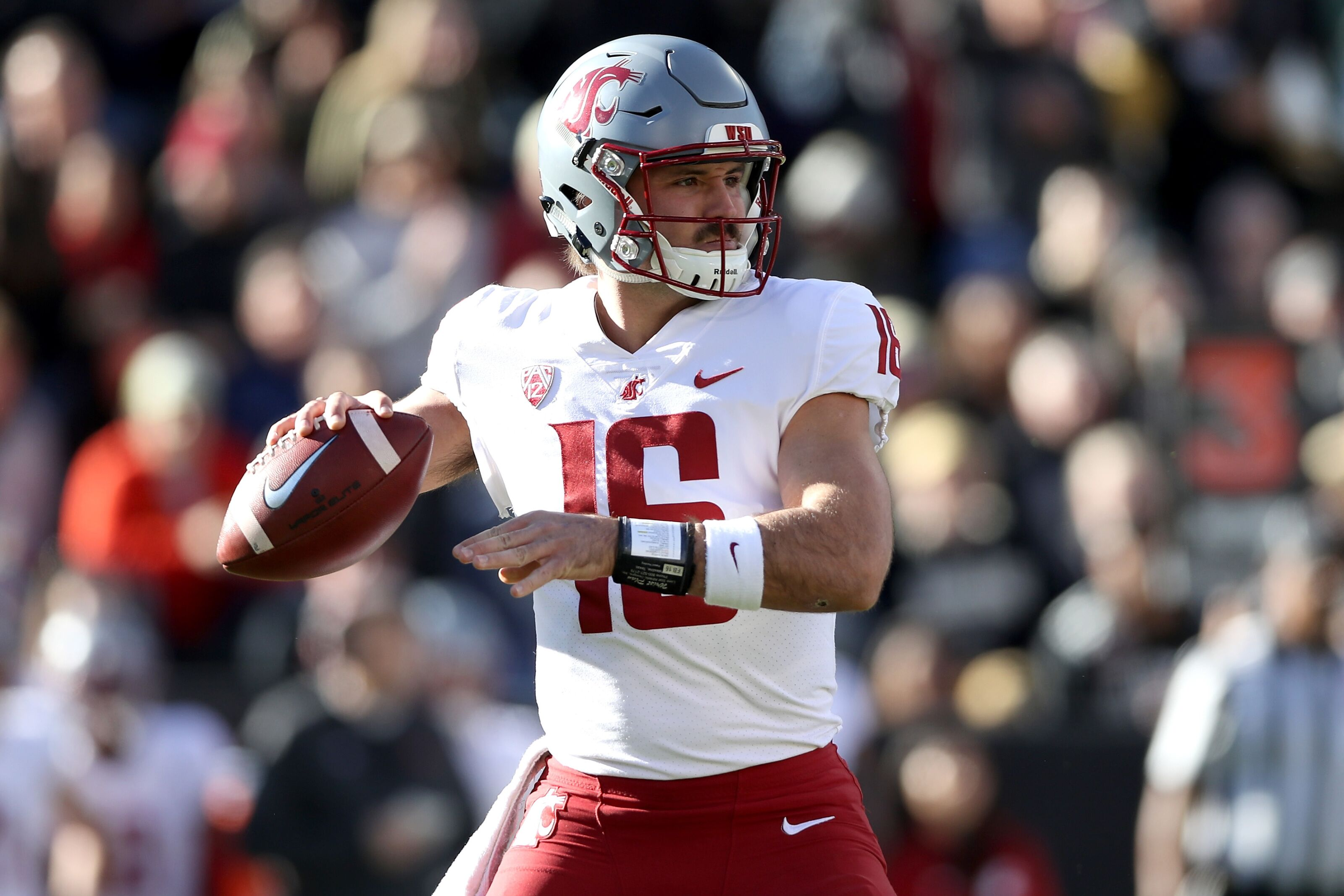 huge selection of 27955 82ca3 Washington State football: Jaguars draft insurance QB in ...