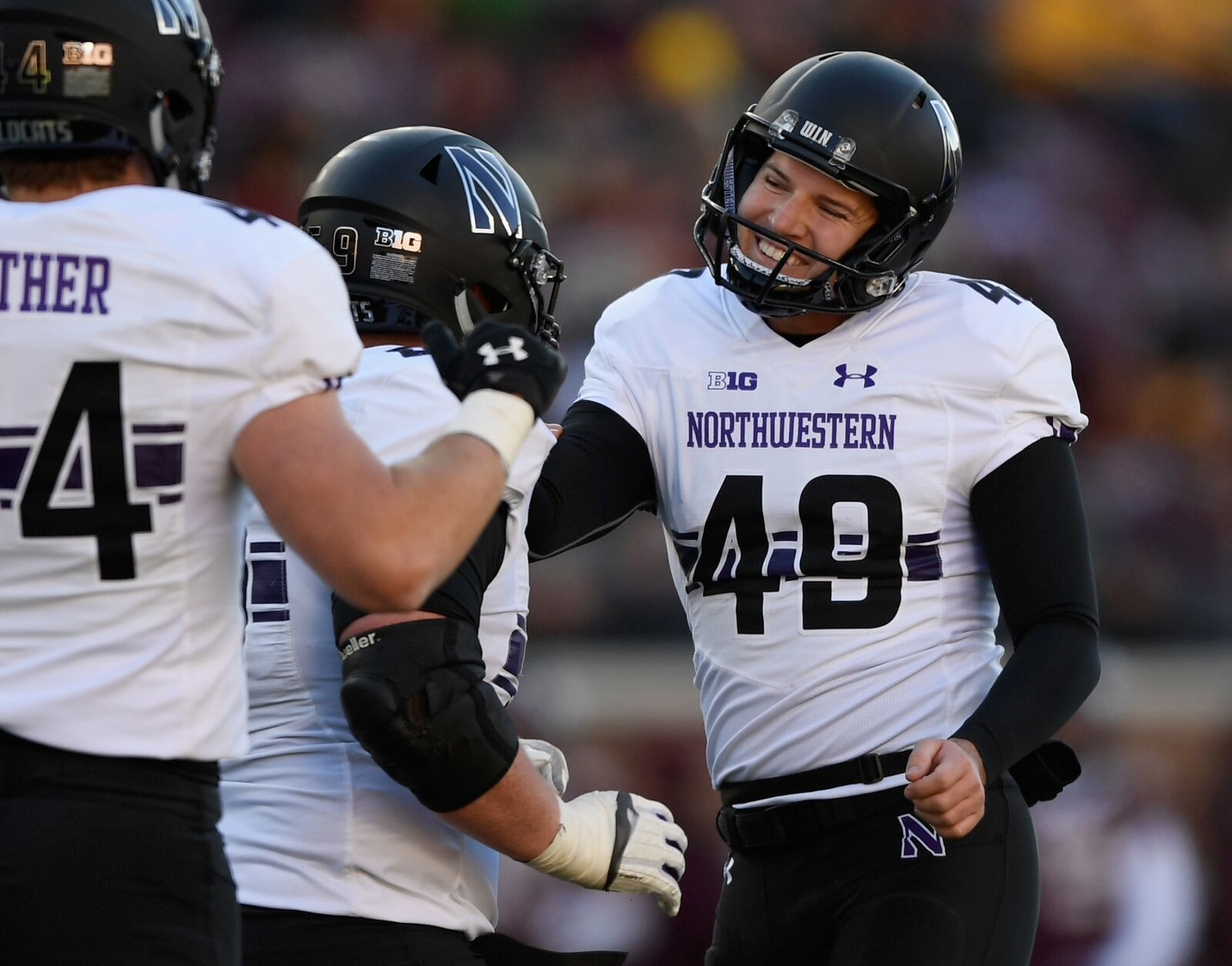 official photos d04de 91a48 Northwestern Football: 3 takeaways from win over Minnesota ...