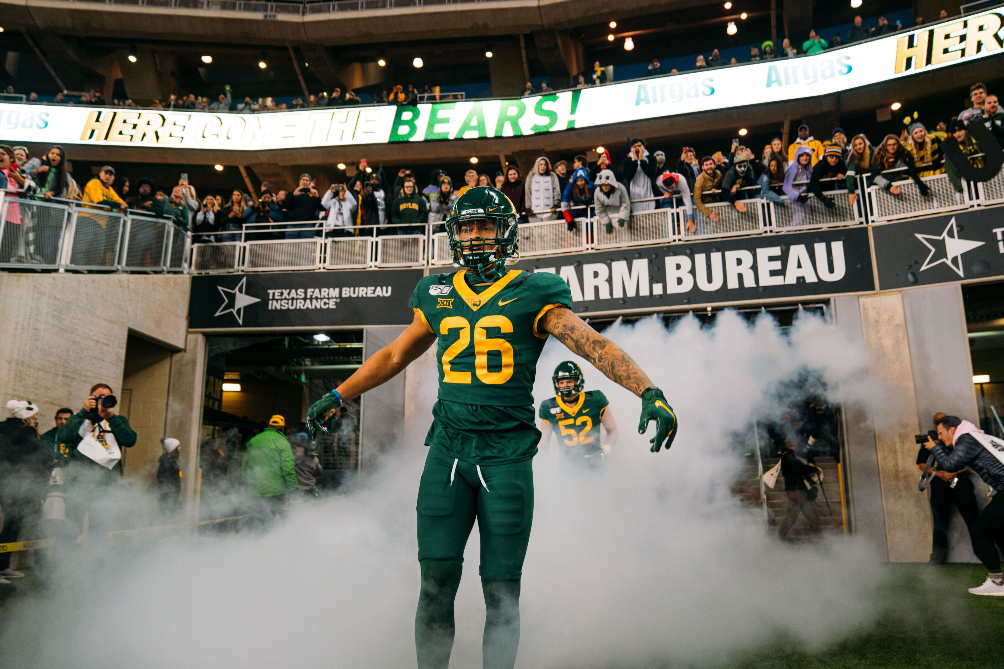 Baylor Football Fighting For Respect In Week 12 Matchup With