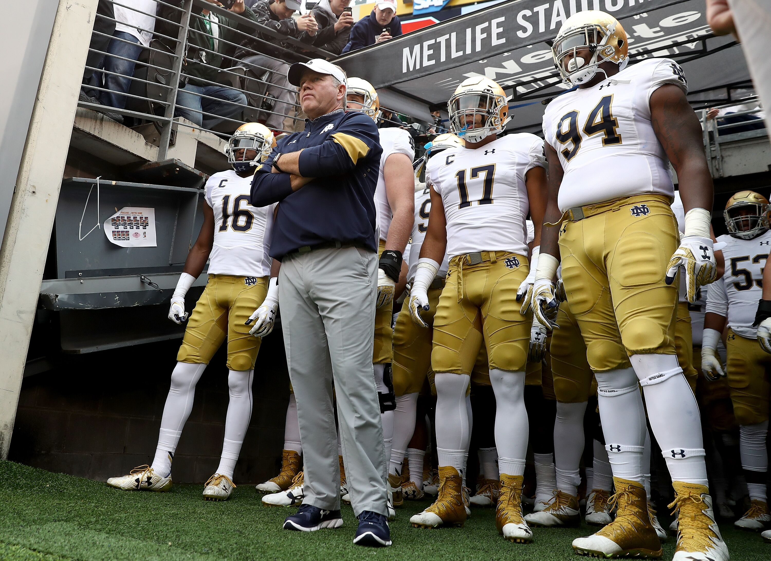 108a45164 Notre Dame Football  Irish unveil Knute Rockne-inspired uniform