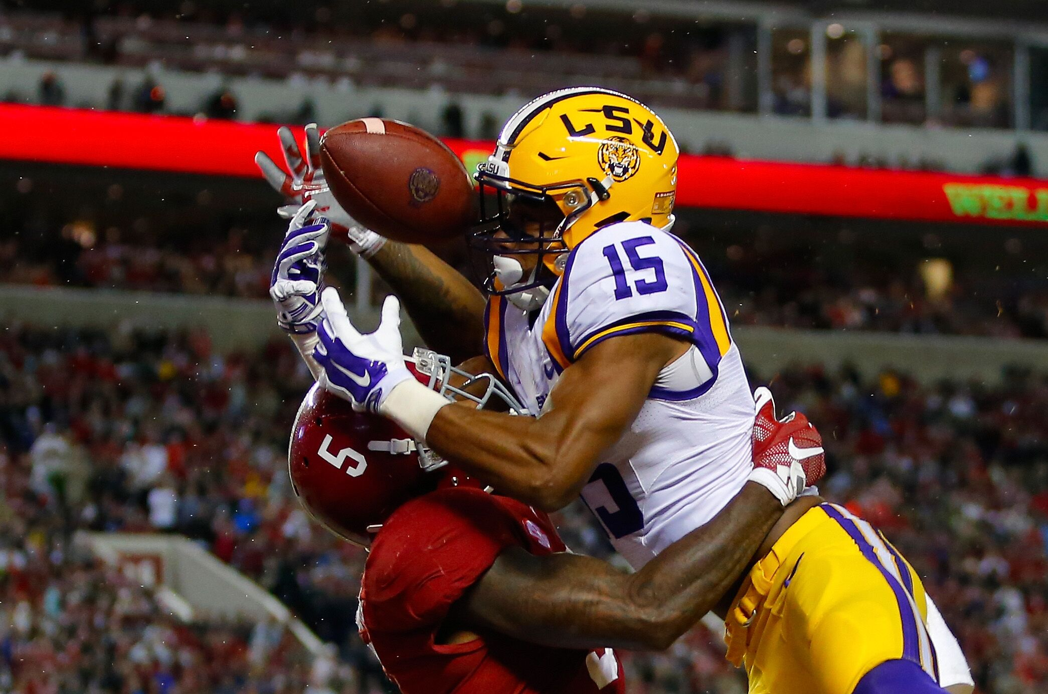 Get the latest LSU Tigers news scores stats standings rumors and more from ESPN