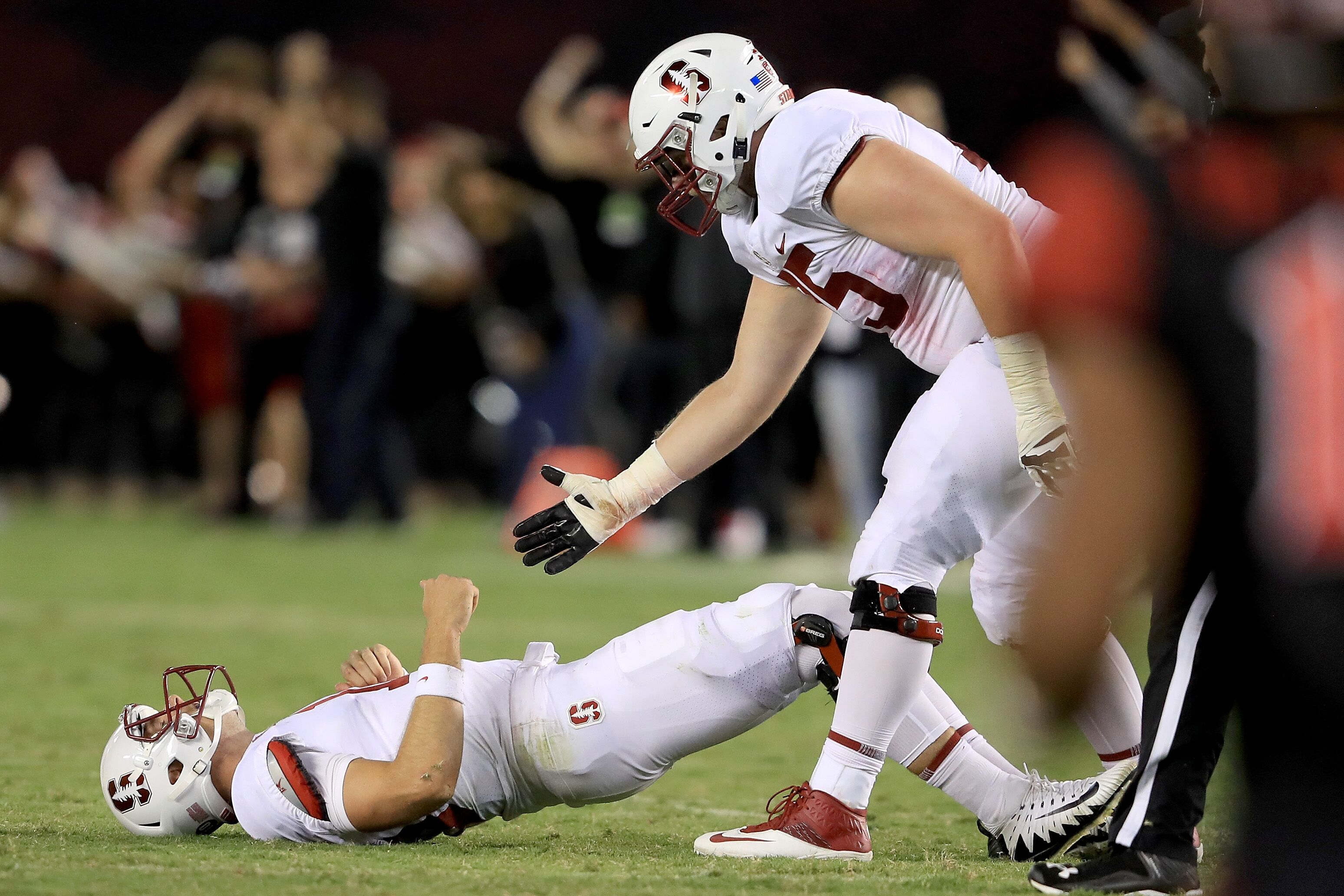 View complete individual and team football stat leaders for the Stanford Cardinal including passing rushing and defensive statistics