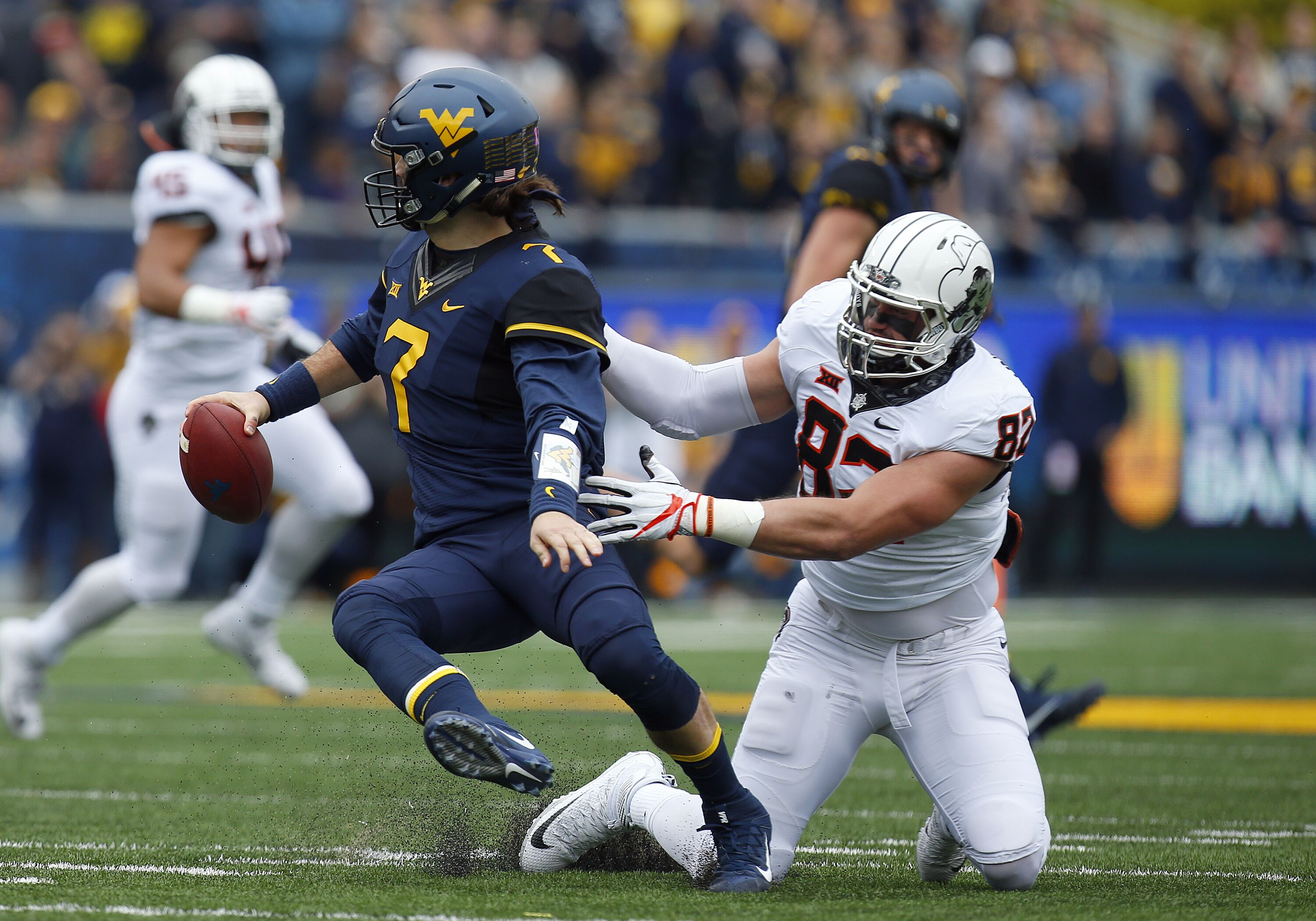 West Virginia Mountaineers Football on The Smoking Musket