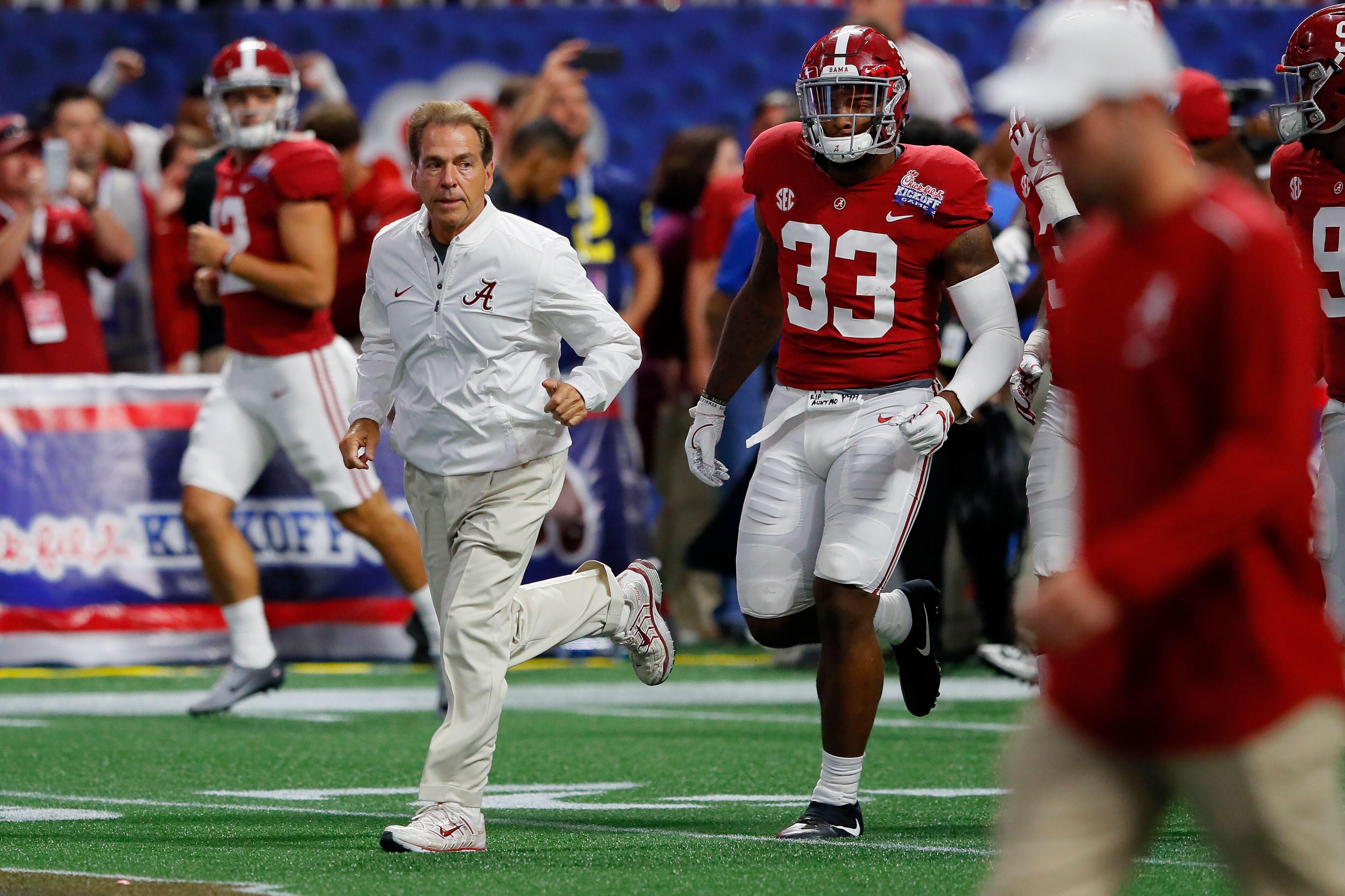 8784601d1b34 Alabama Football  Crimson Tide escape major upset vs. Mississippi State