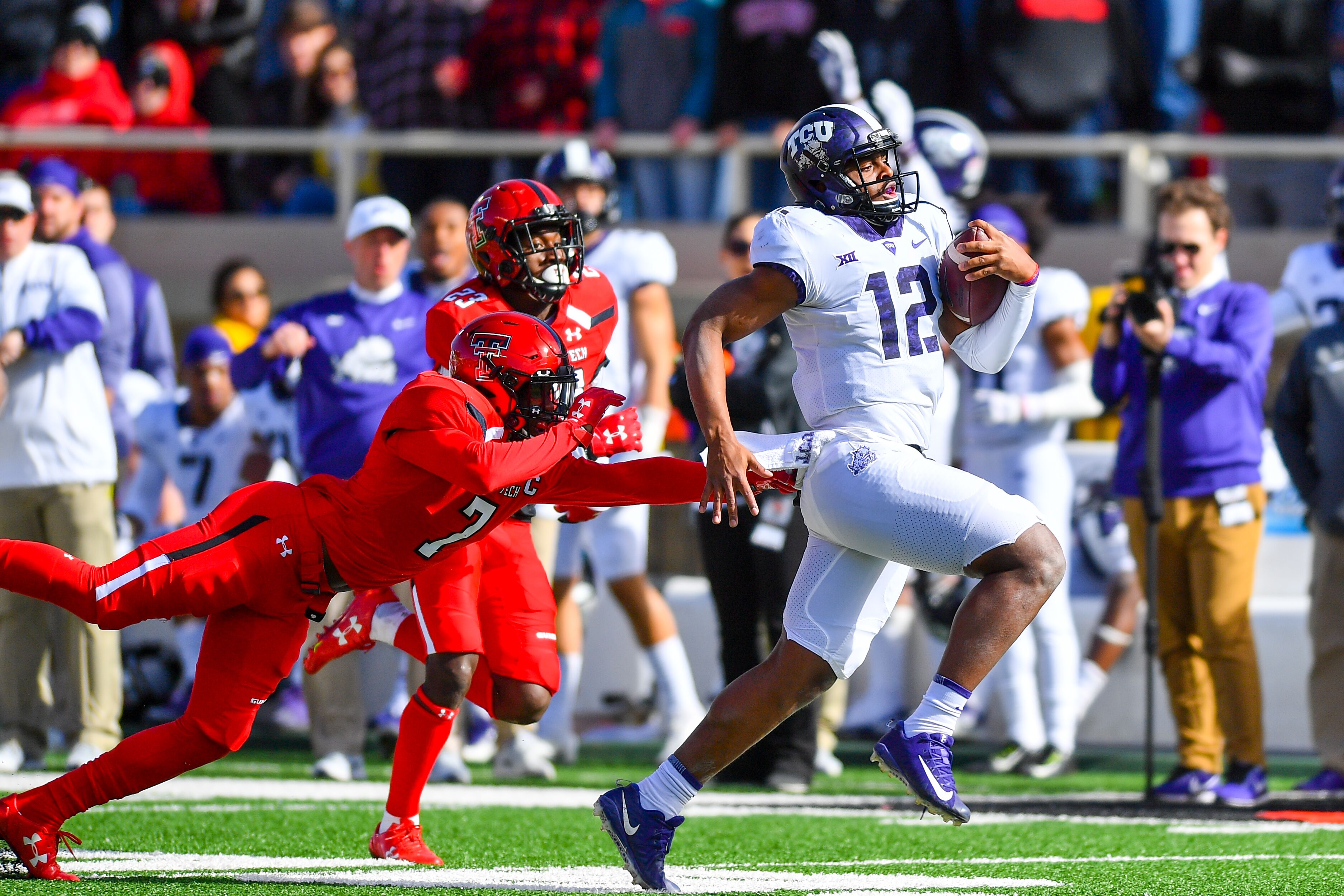 ed2c6335a0 TCU Football  Horned Frogs look to roll in-state rival SMU in Week 2