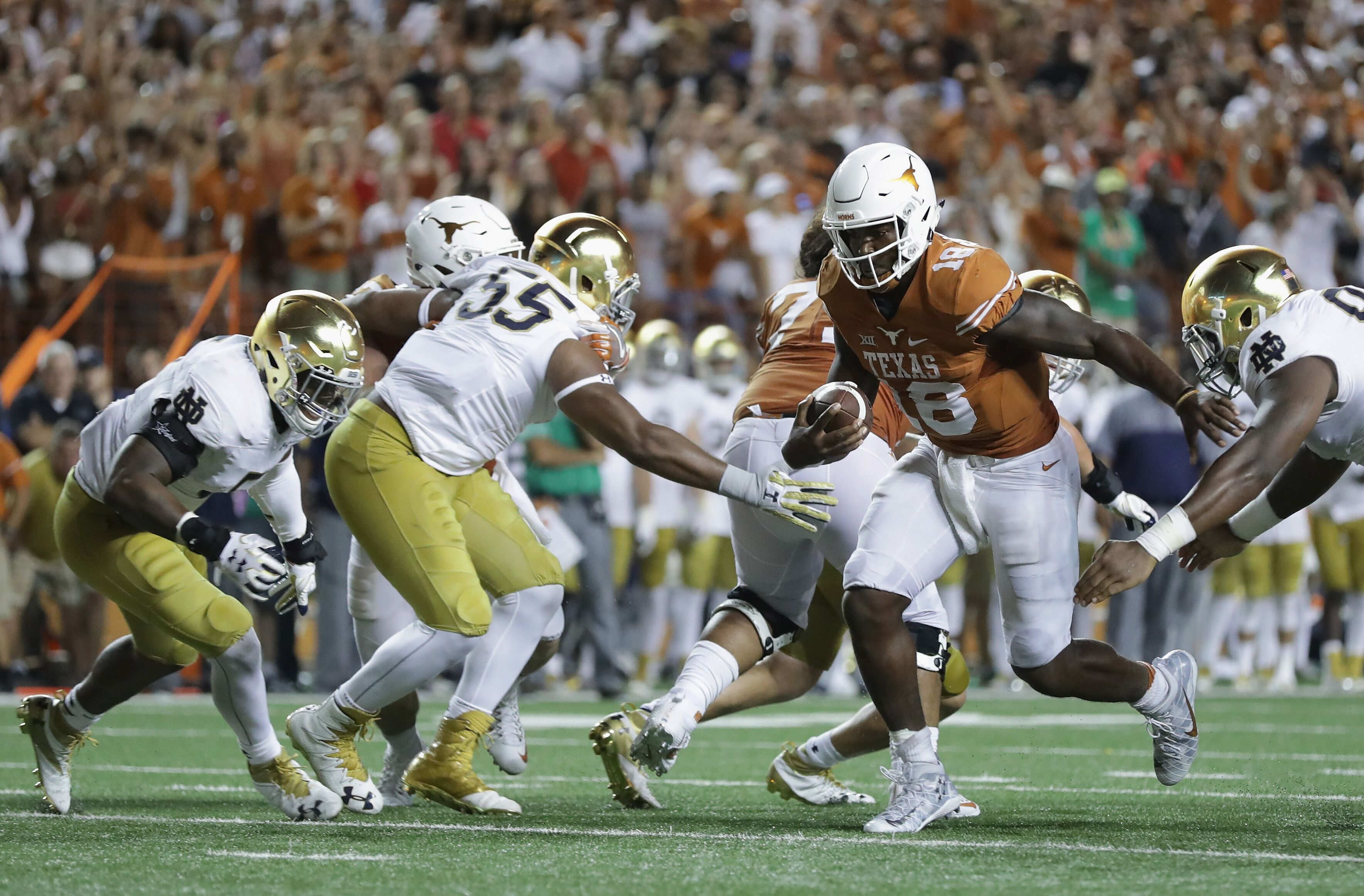 Texas Football: Longhorns are white whale of conference