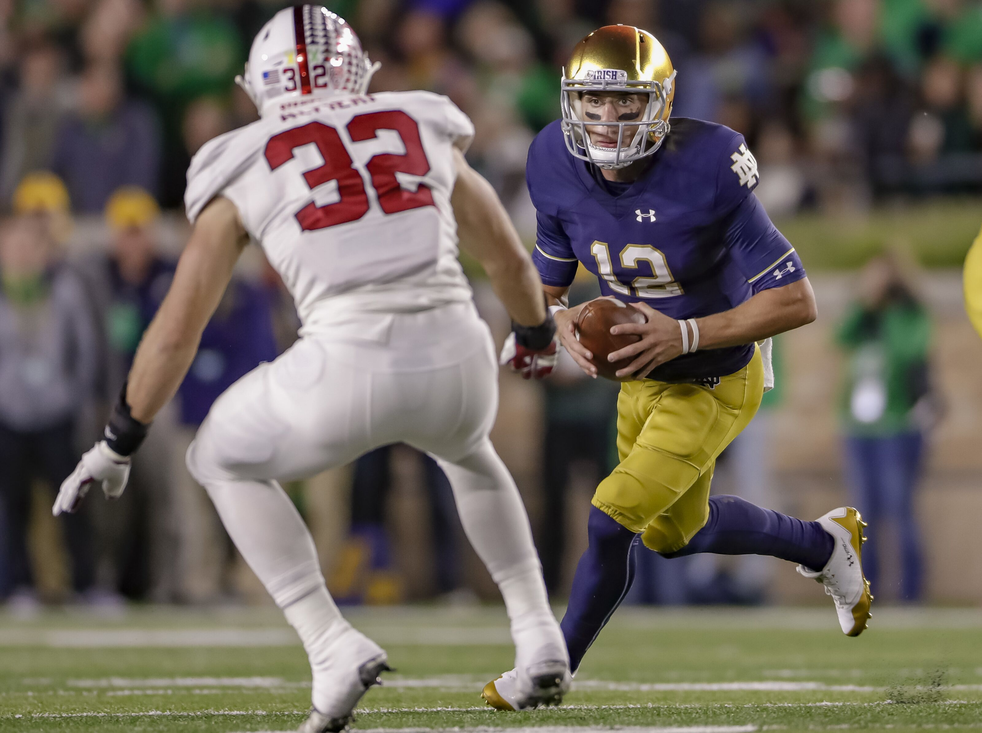 0bd7be822240 Notre Dame Football: Is Ian Book a realistic Heisman contender in 2019?