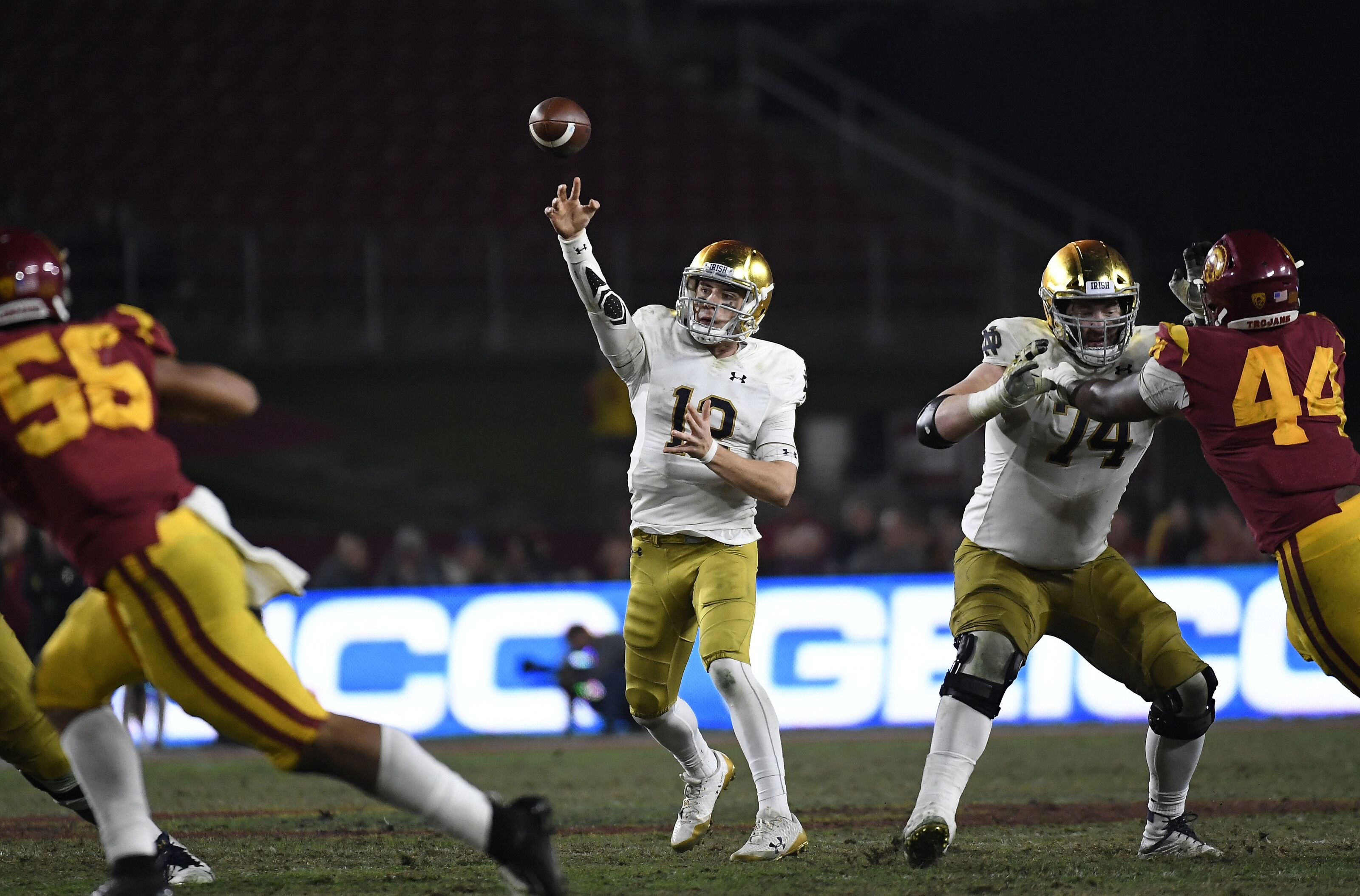 Notre Dame Football: Spring Game shows Ian Book's development on track