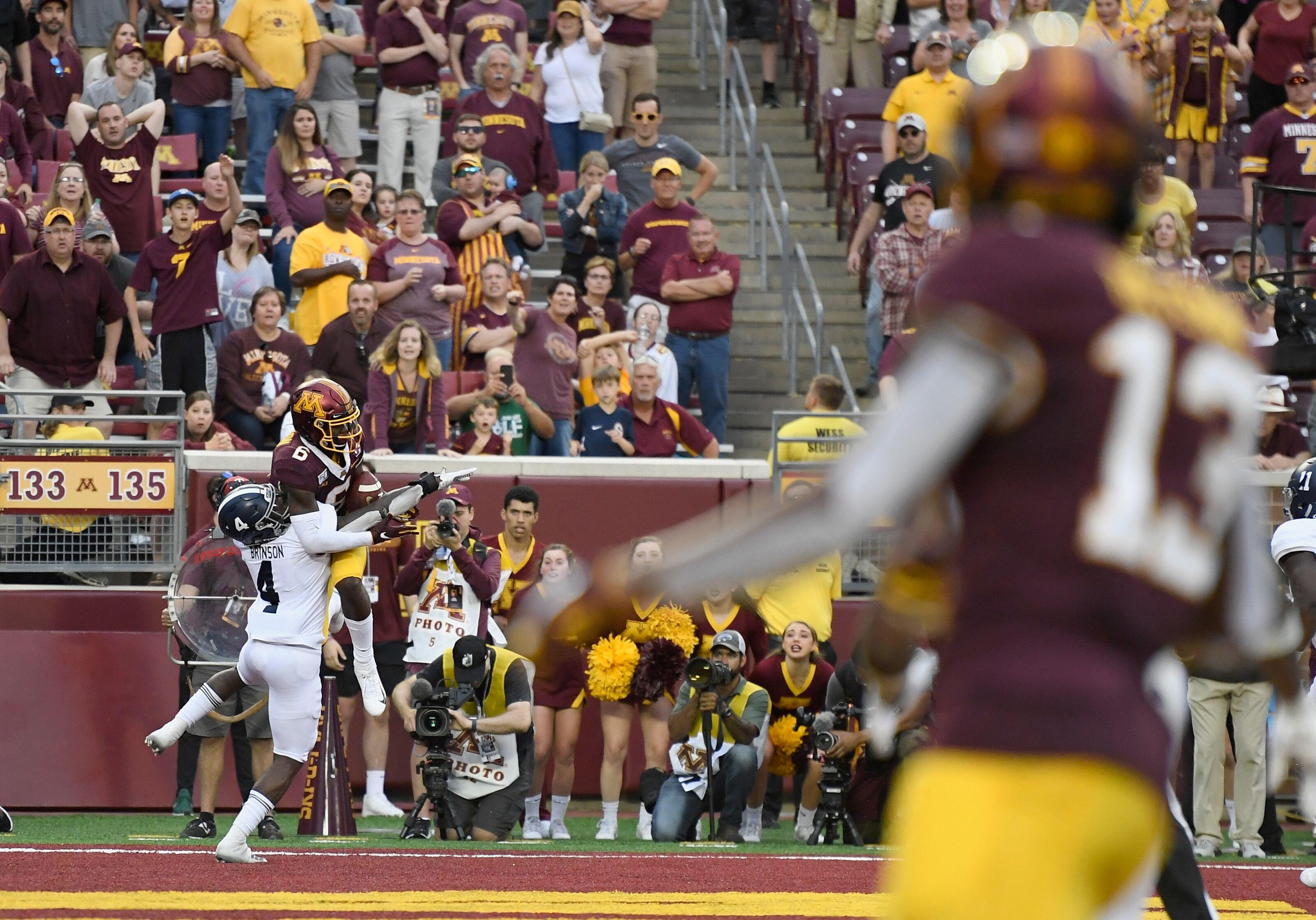 Minnesota football survives third straight scare vs. Georgia Southern