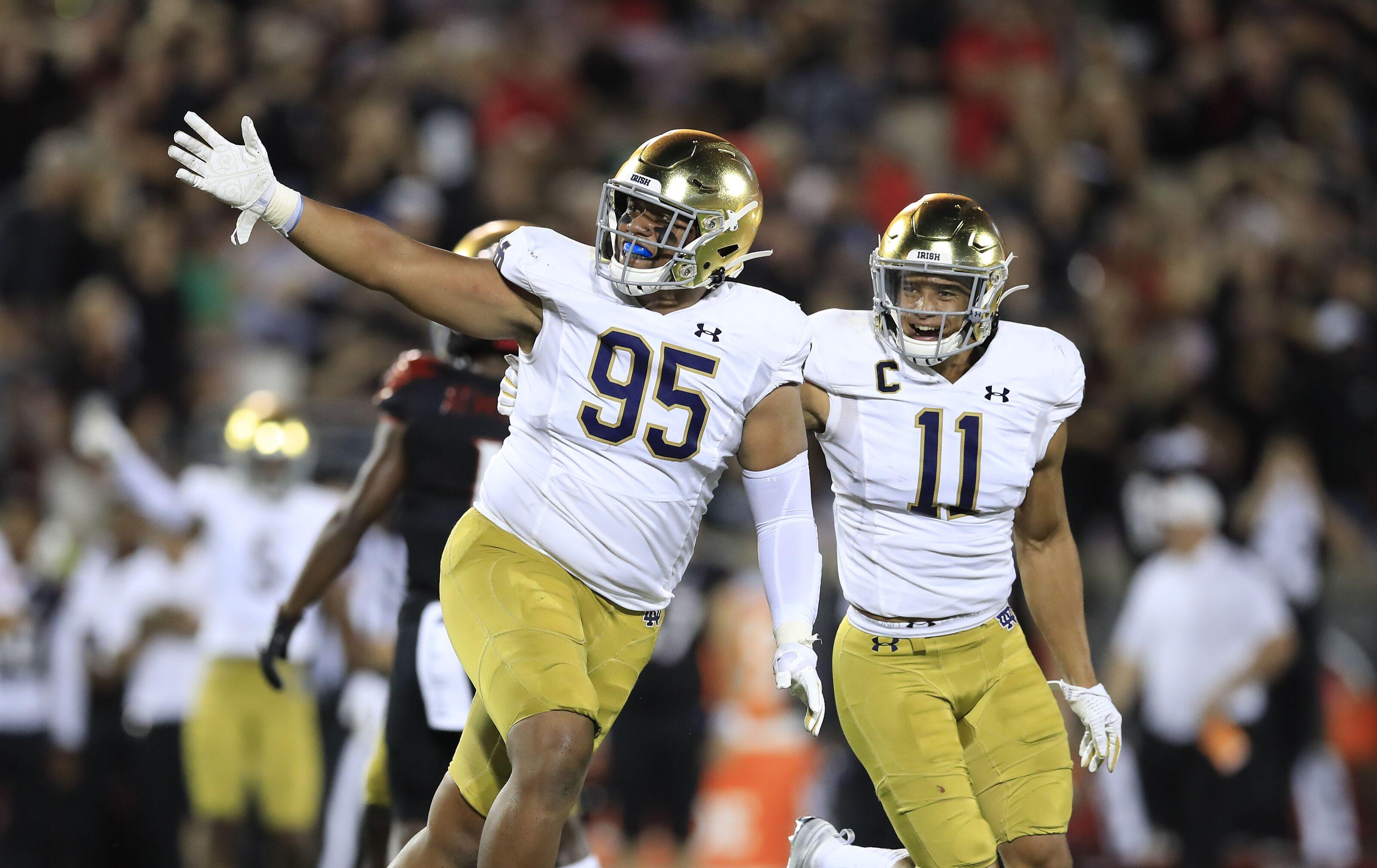 Notre Dame football looks for season-defining win over Georgia