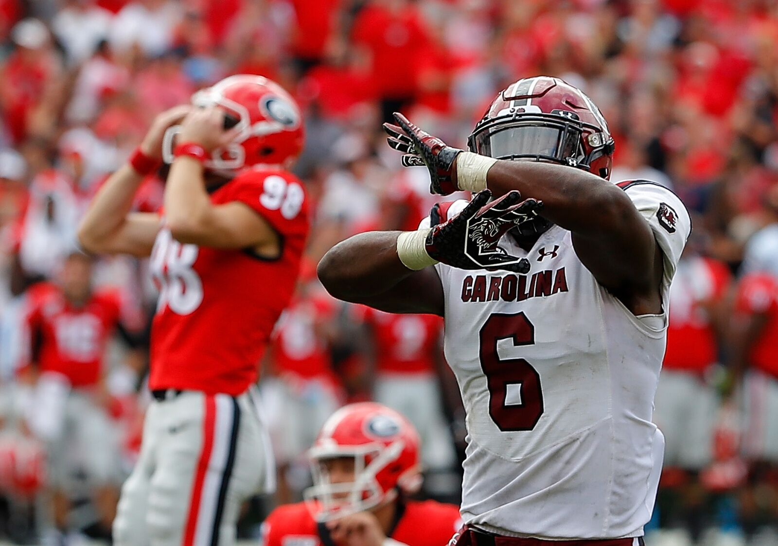 College Football Rankings: Projected Top 25, Week 8 – Down goes Georgia