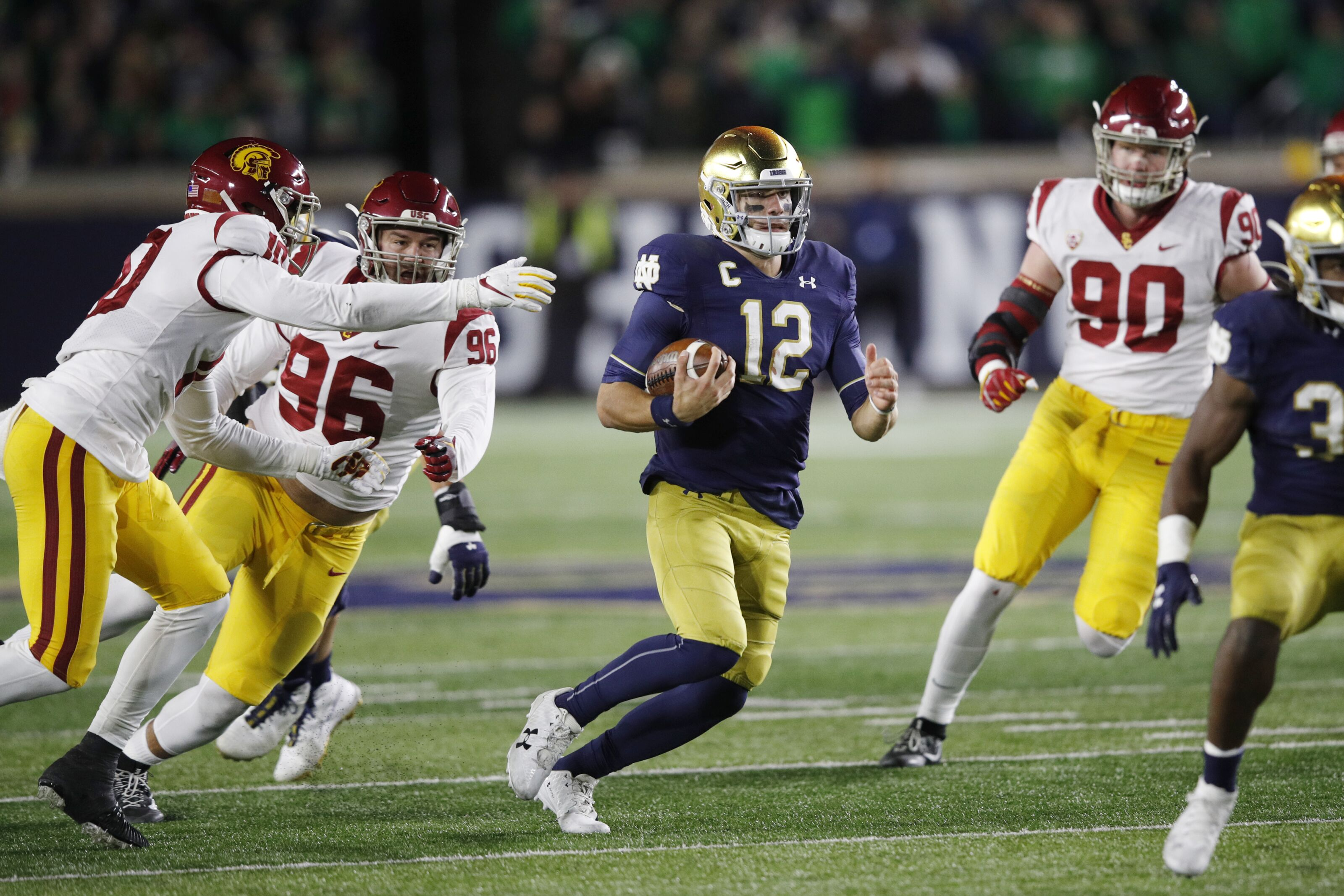 Notre Dame Football: Report card for win over USC in Week 8