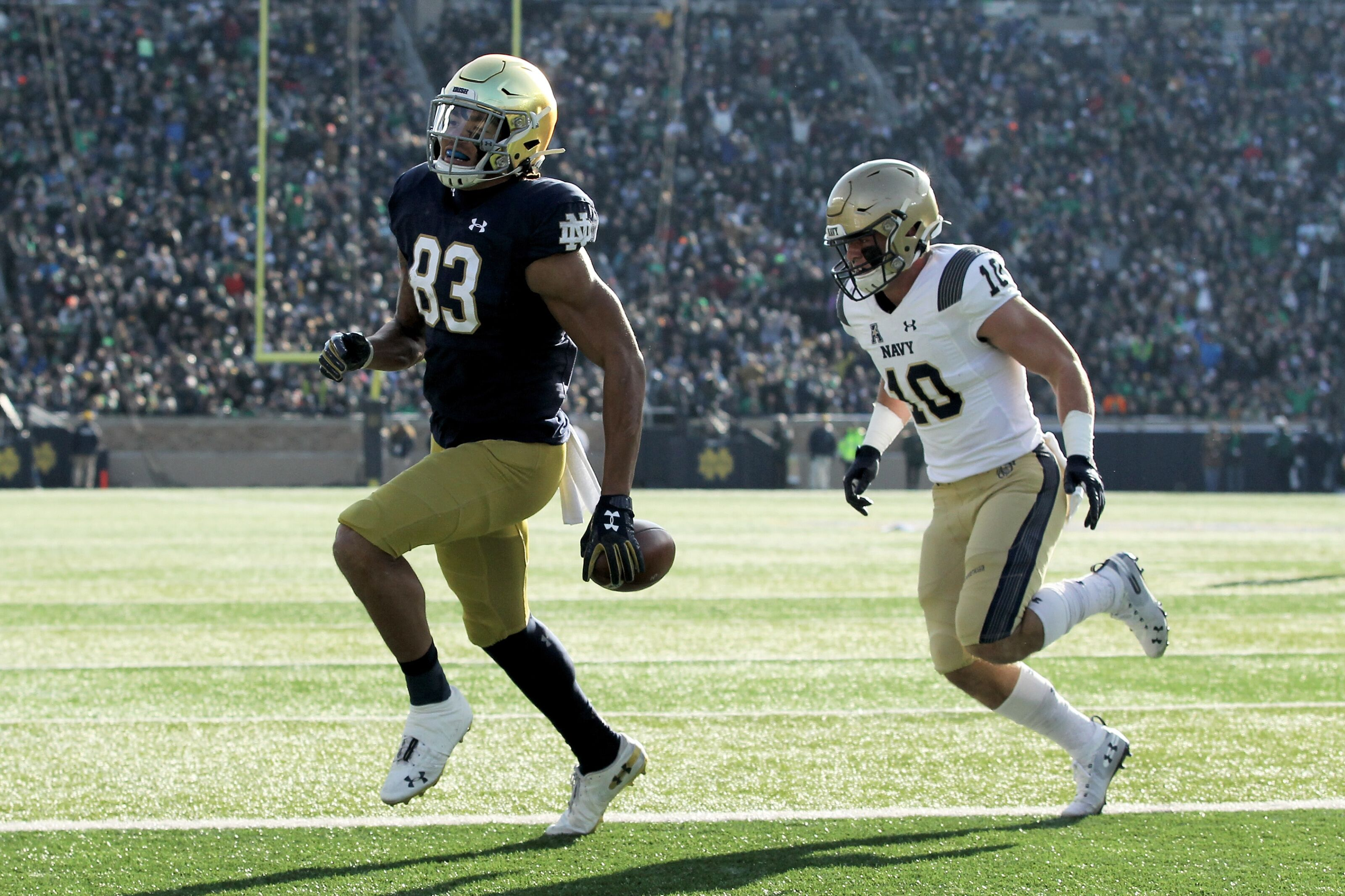 Notre Dame football looks to maintain momentum, dominate Boston College