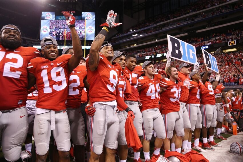 How Many Bowl Eligible Teams Did Ohio State Play In 2014?