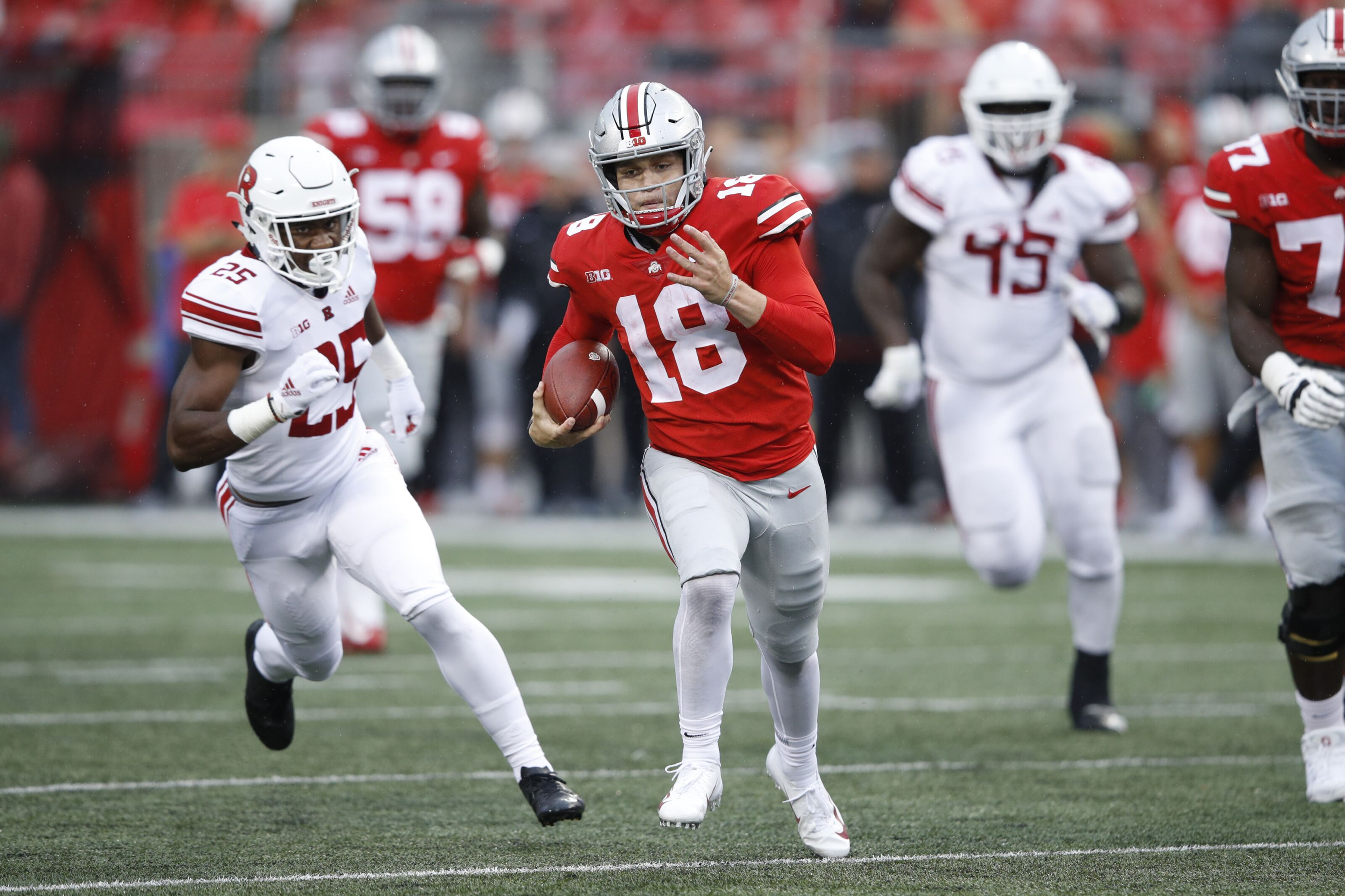 Ohio State Football A Closer Look At Quarterback Tate Martell