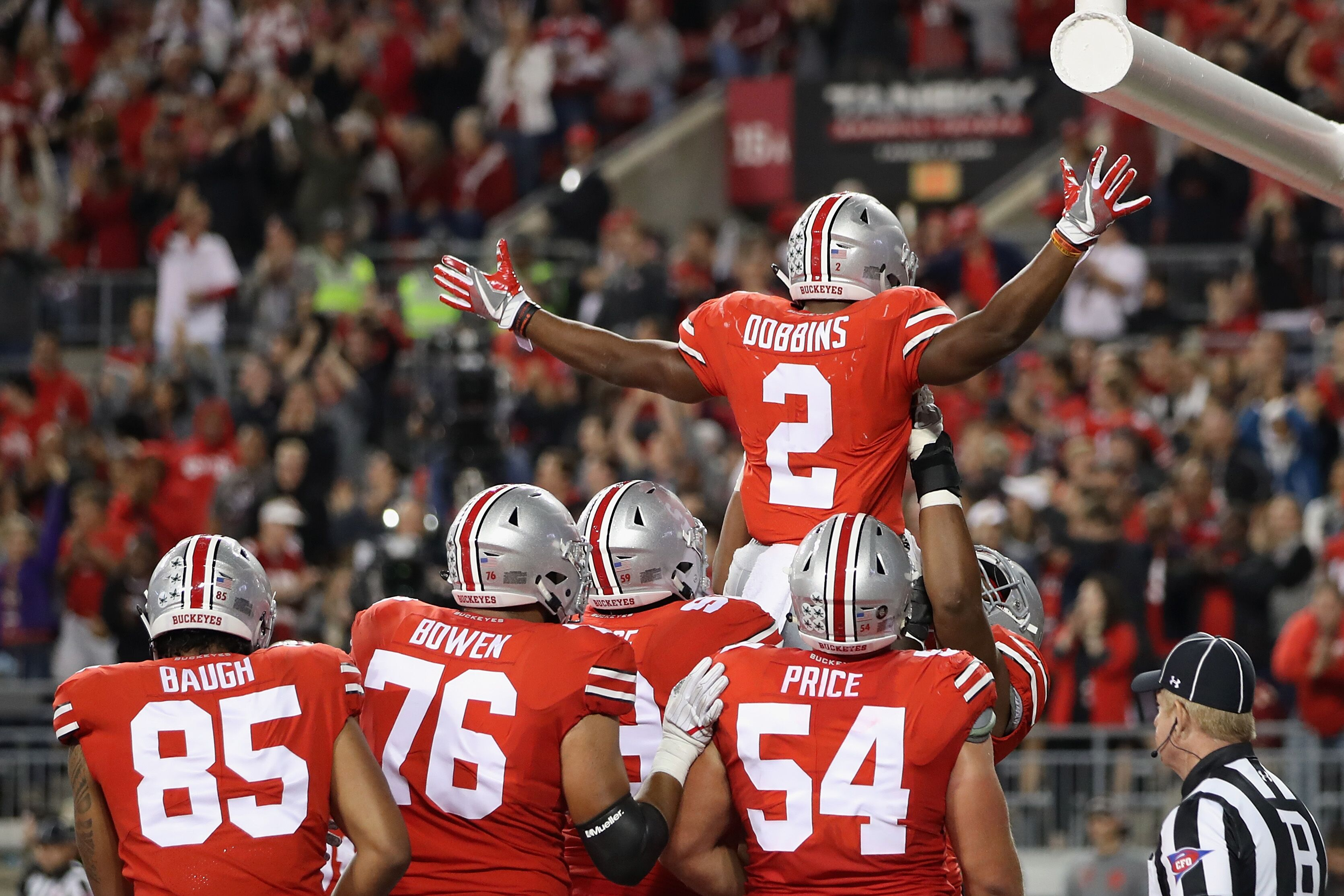 Ohio State Usc Cotton Bowl >> Ohio State offense needs to establish rushing attack in Cotton bowl