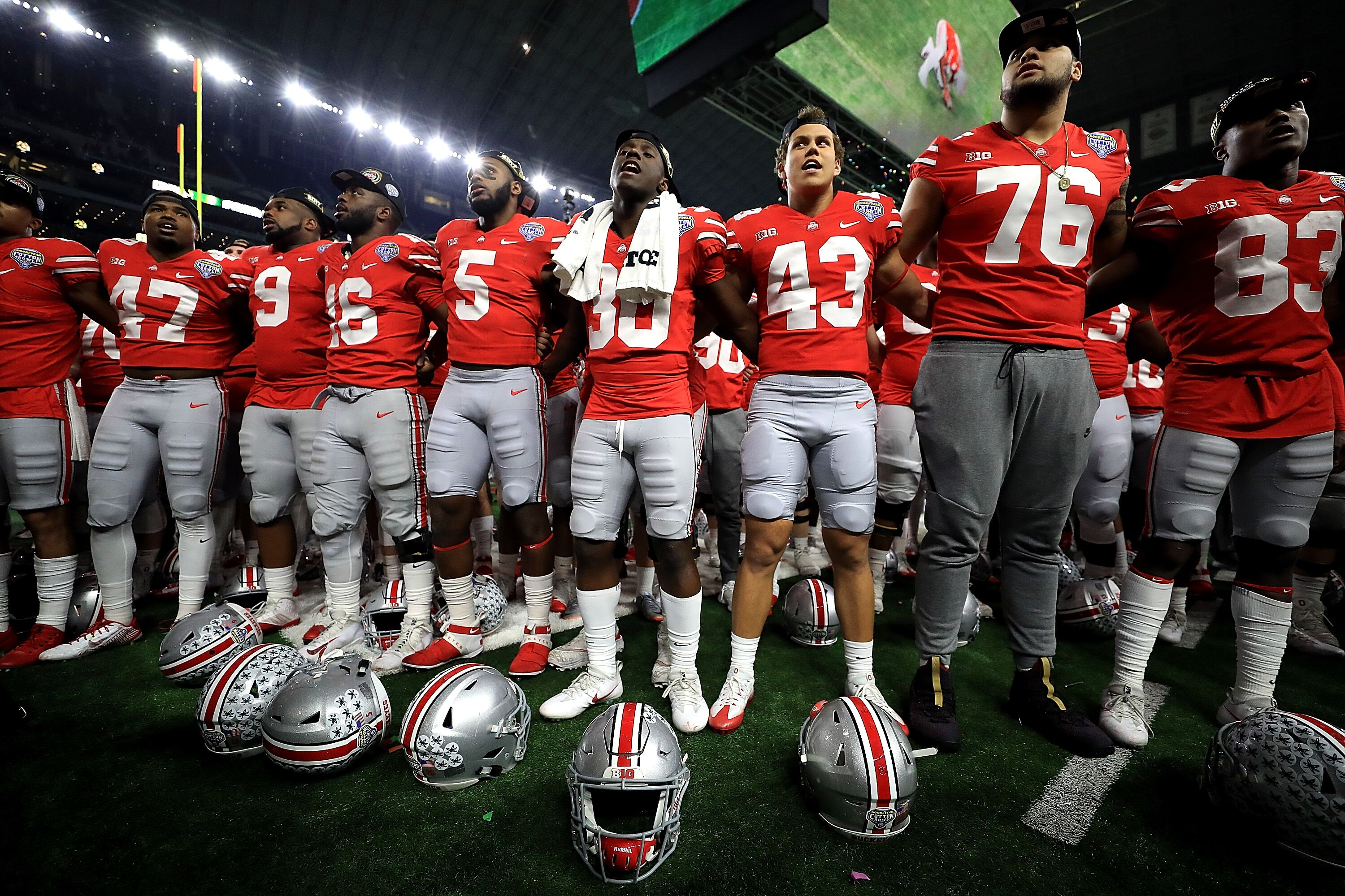 Ohio State Football How Competition In Spring Will Trim Roster To 85