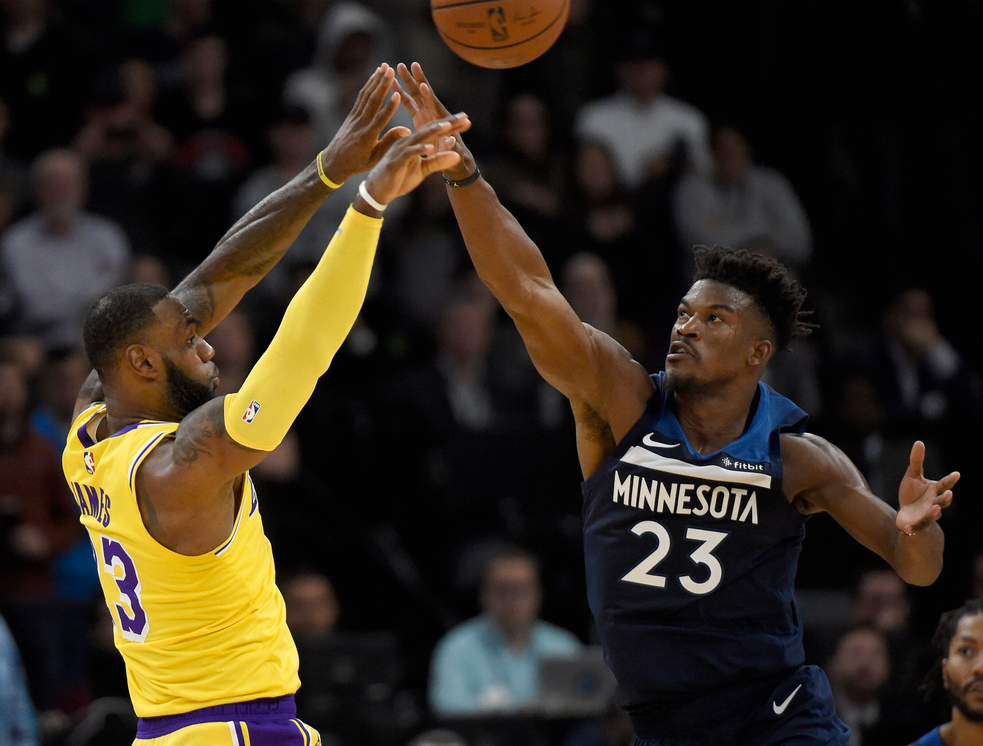 3119ec1d6 Philadelphia 76ers  The Lakers  instability could keep Jimmy Butler in  Philly