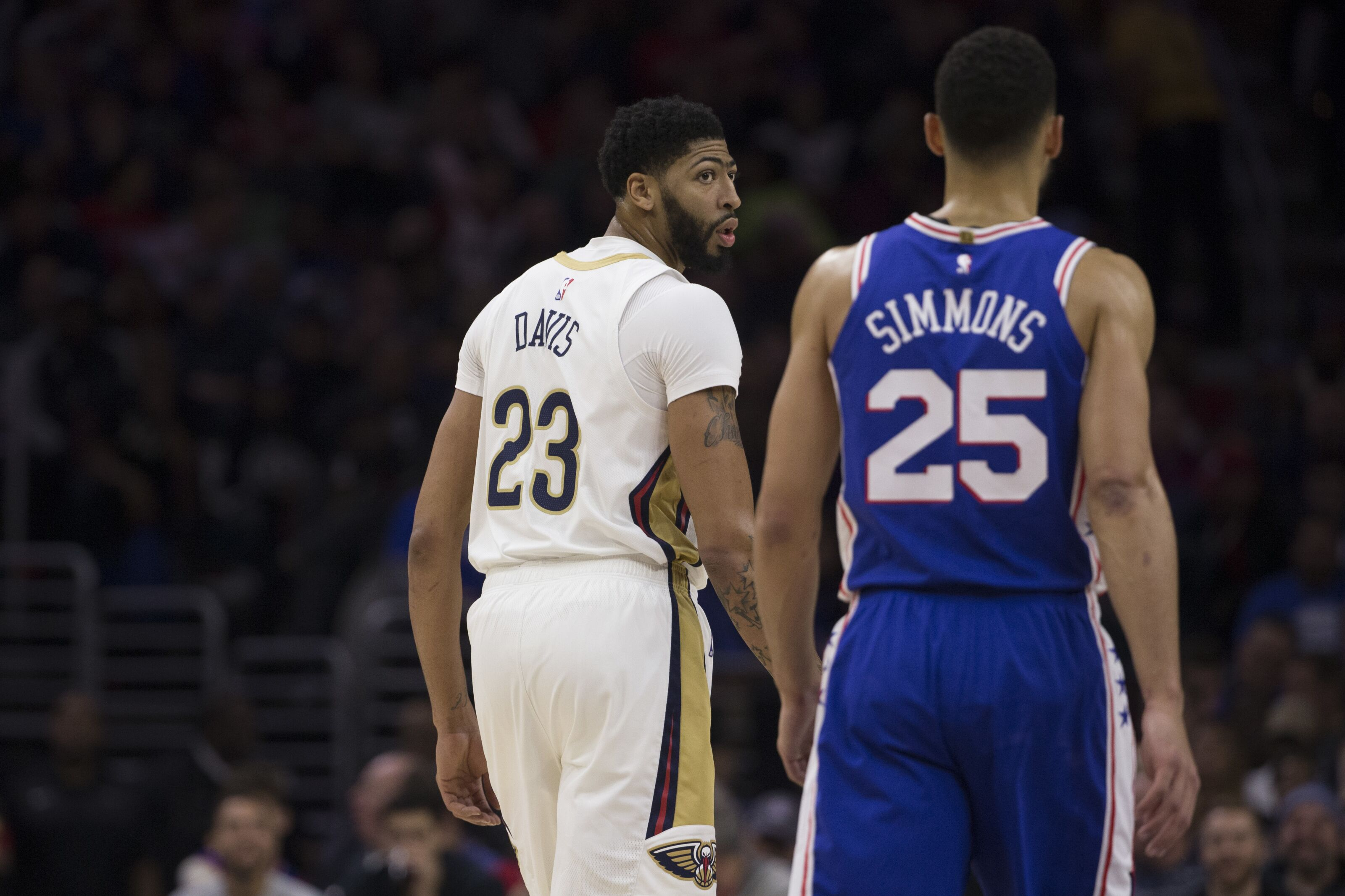 3a7f49abf Philadelphia 76ers  How the current trade market affects Ben Simmons