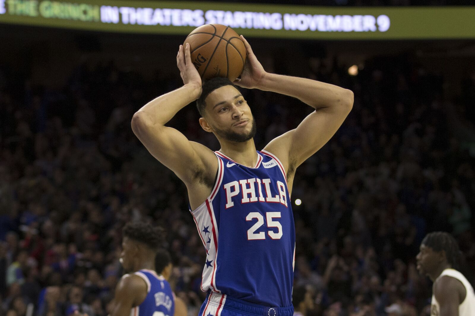 76c866db8d84 Philadelphia 76ers  Ben Simmons took another 3 against the Pelicans