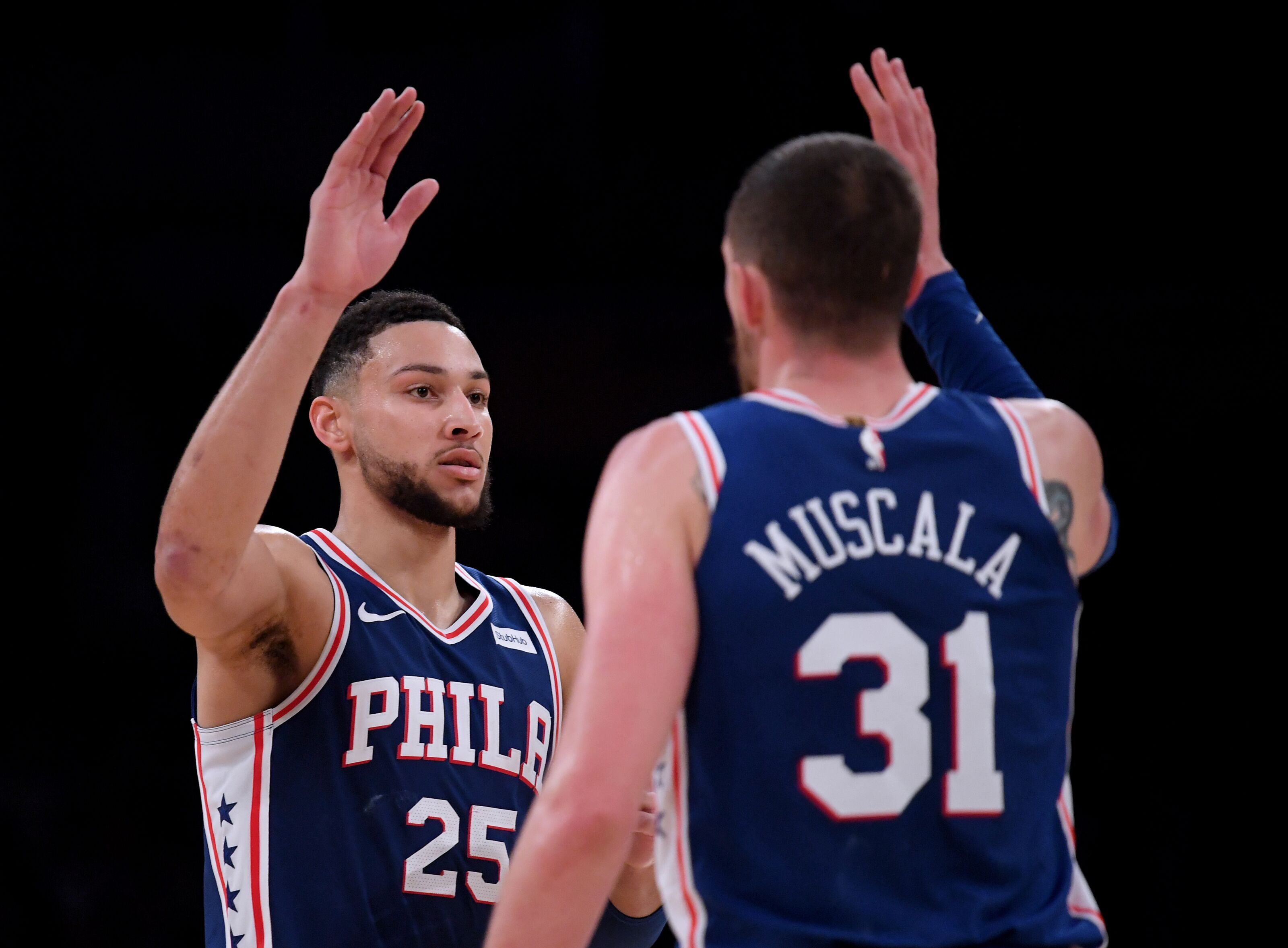 brand new 05955 2d171 Philadelphia 76ers: Mike Muscala will fit perfectly with ...