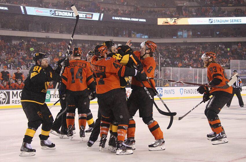 online retailer e3257 bbbf2 Philadelphia Flyers: Stadium Series overtime win was amazing ...