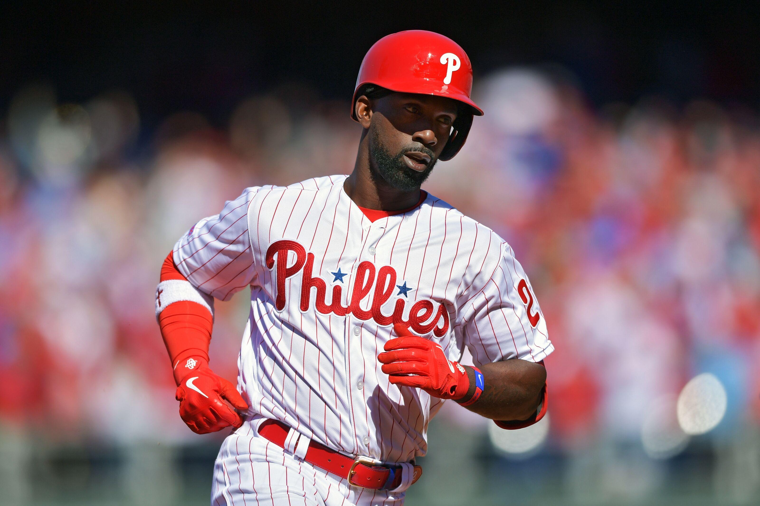 100% authentic 4967f a9ba2 Philadelphia Phillies: Andrew McCutchen hits home run first ...
