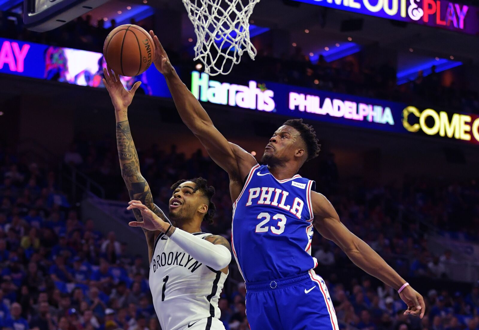 0d83bd100 Philadelphia 76ers  Game 2 against Brooklyn Nets a must win