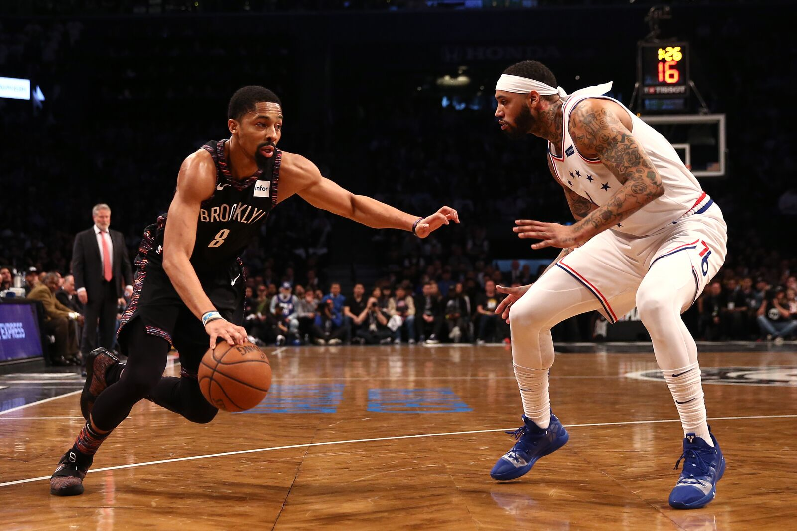 3848634b9904 Philadelphia 76ers  Mike Scott is essential to defeat the Toronto Raptors