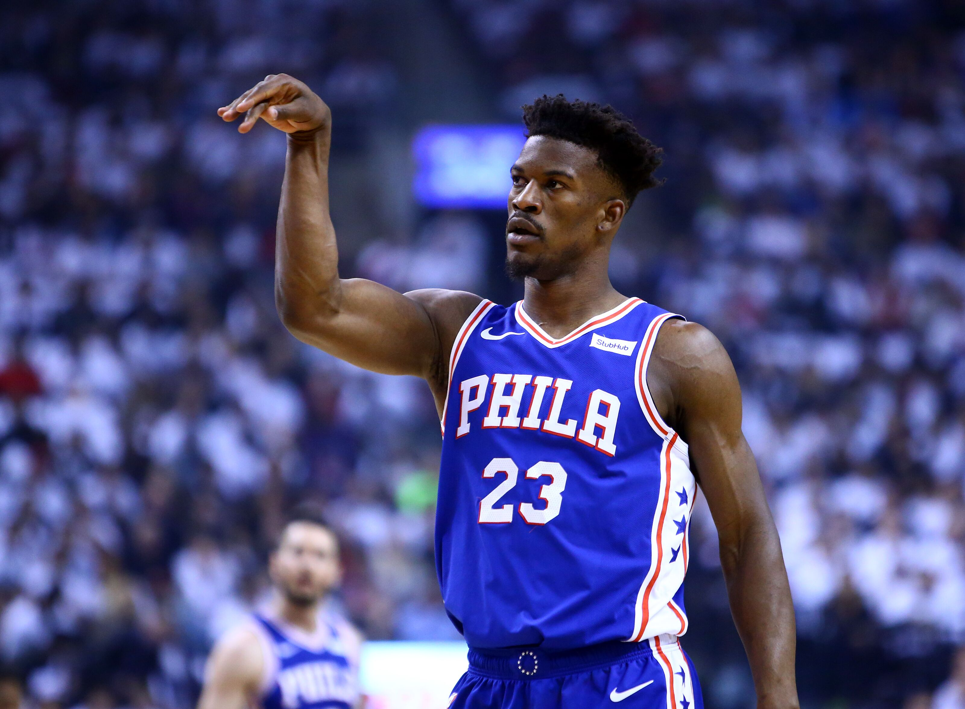 hot sale online 53277 afe57 Philadelphia 76ers: Jimmy Butler Instagram post draws mixed ...