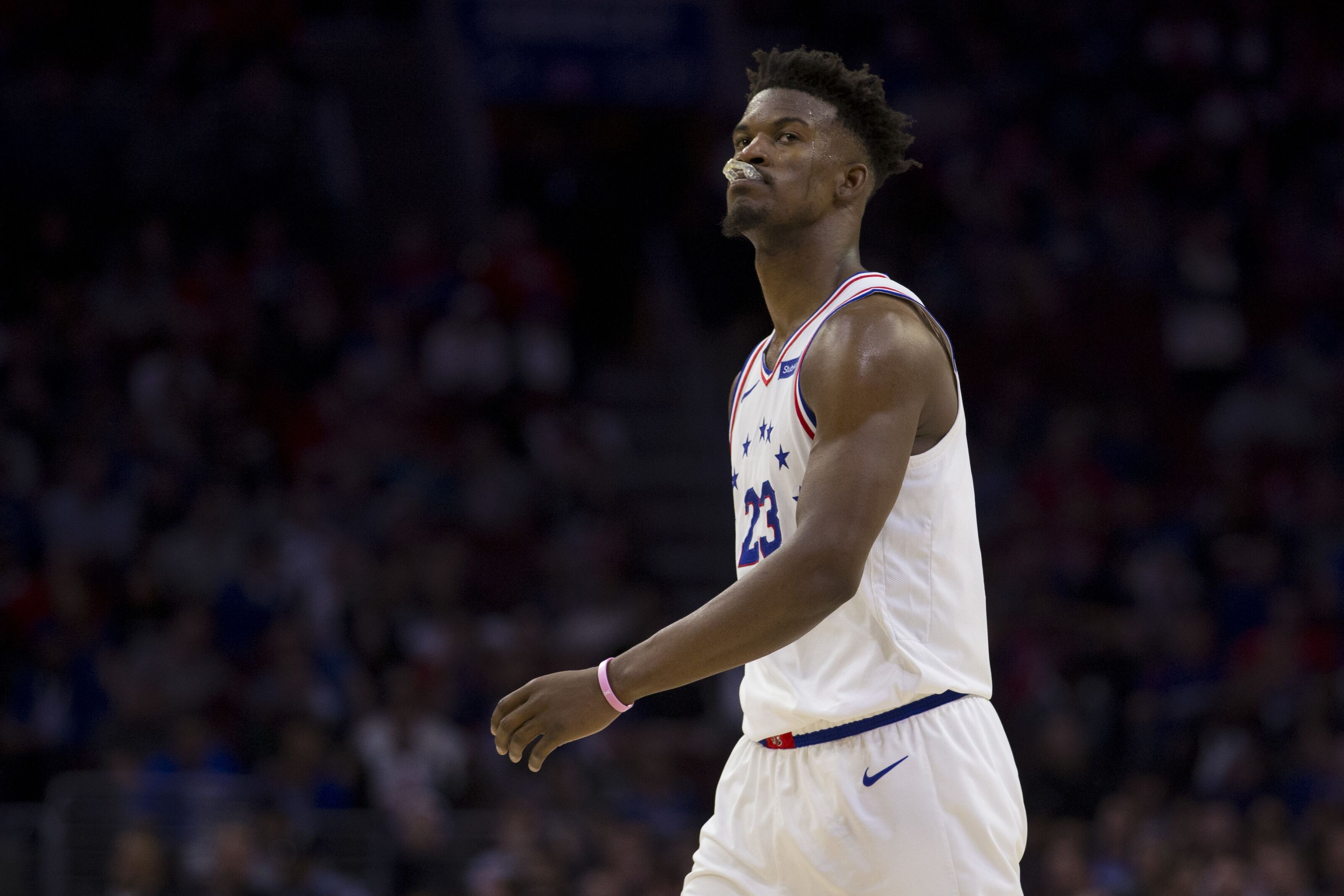 reputable site 4fac7 c5138 Philadelphia 76ers: Jimmy Butler rumors shouldn't excite ...