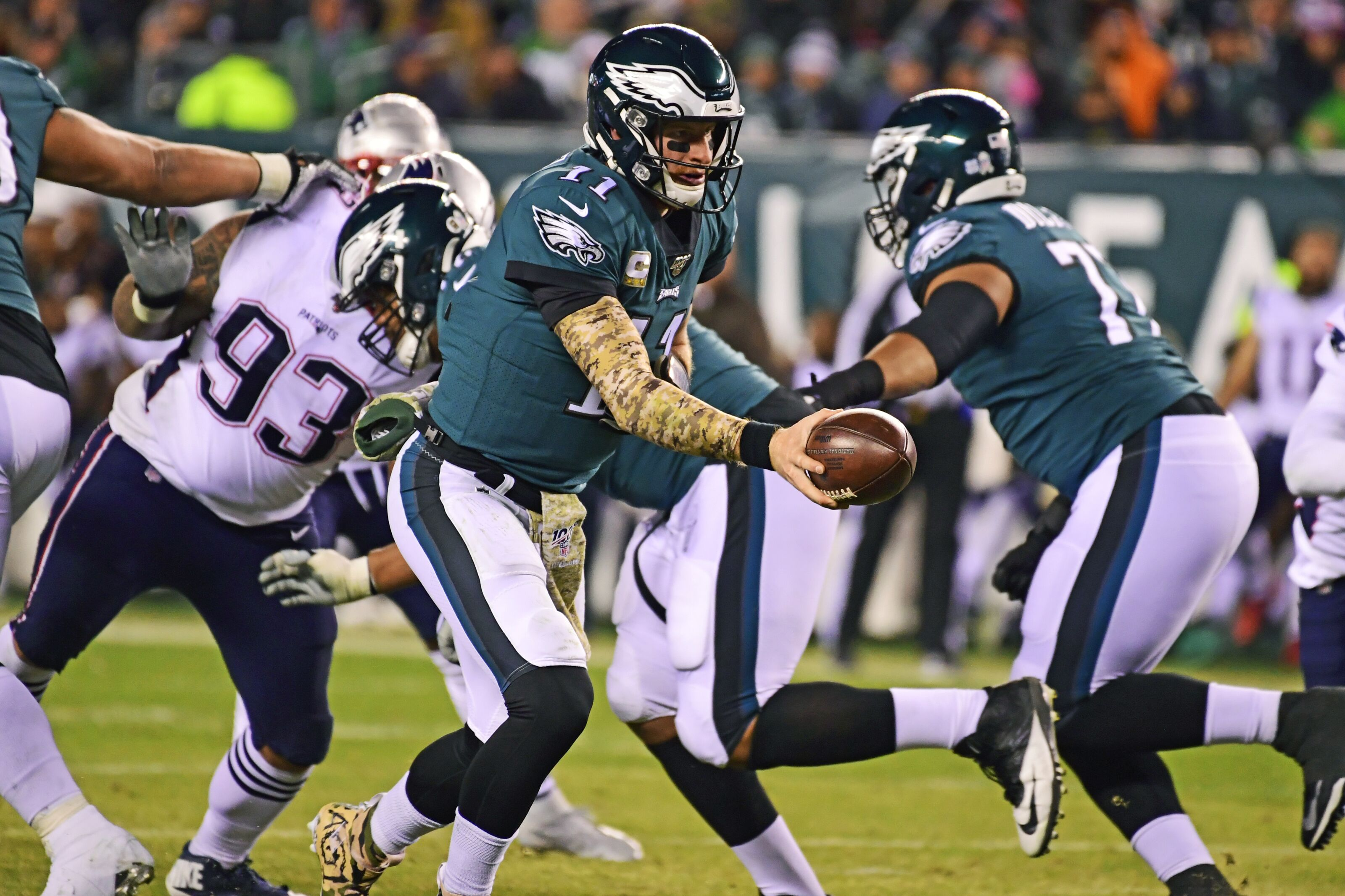 Philadelphia Eagles: 3 concerns from 17-10 Week 11 loss to Patriots - Section 215