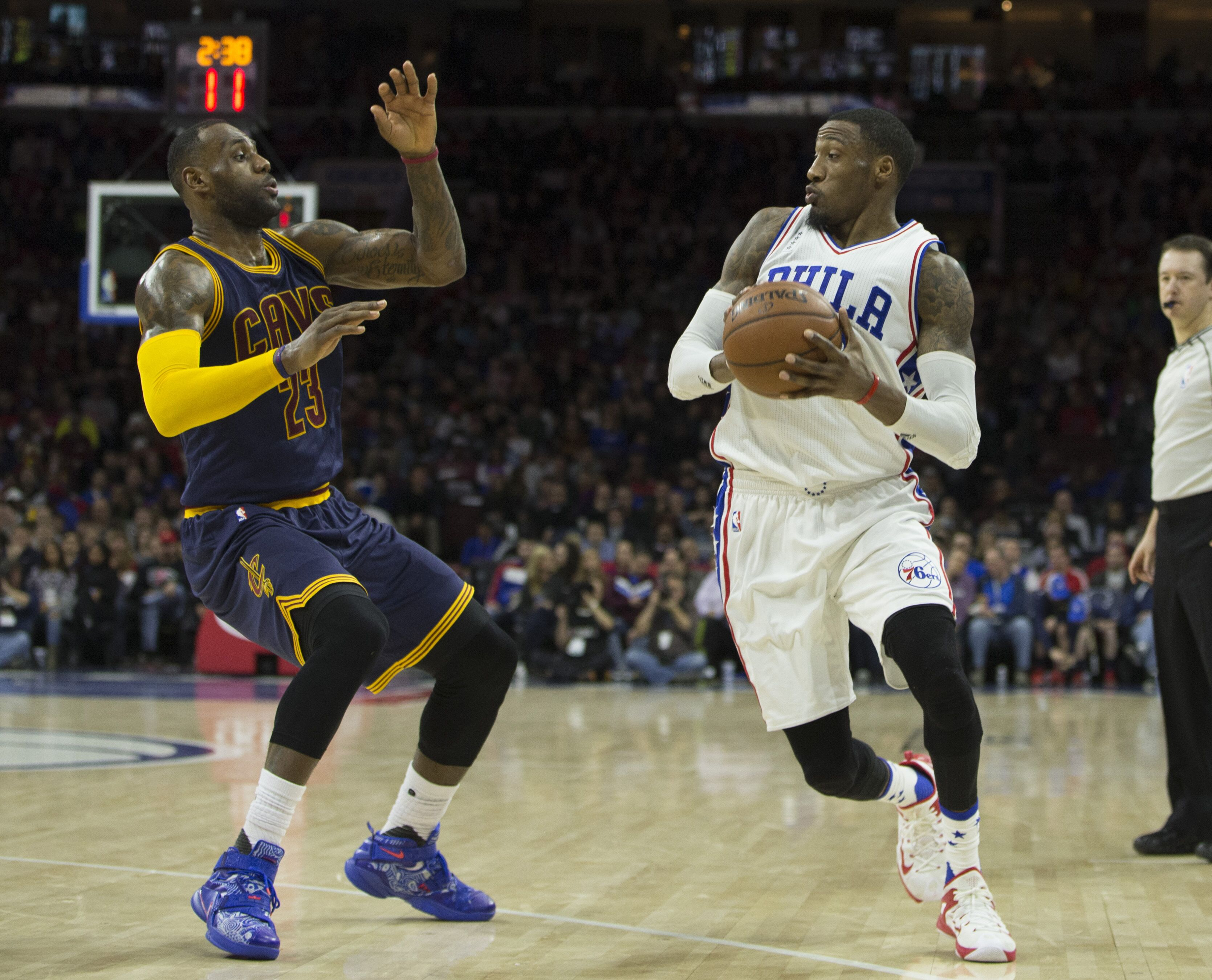 04f16497b7ce Philadelphia 76ers  Does LeBron James actually fit with Ben Simmons