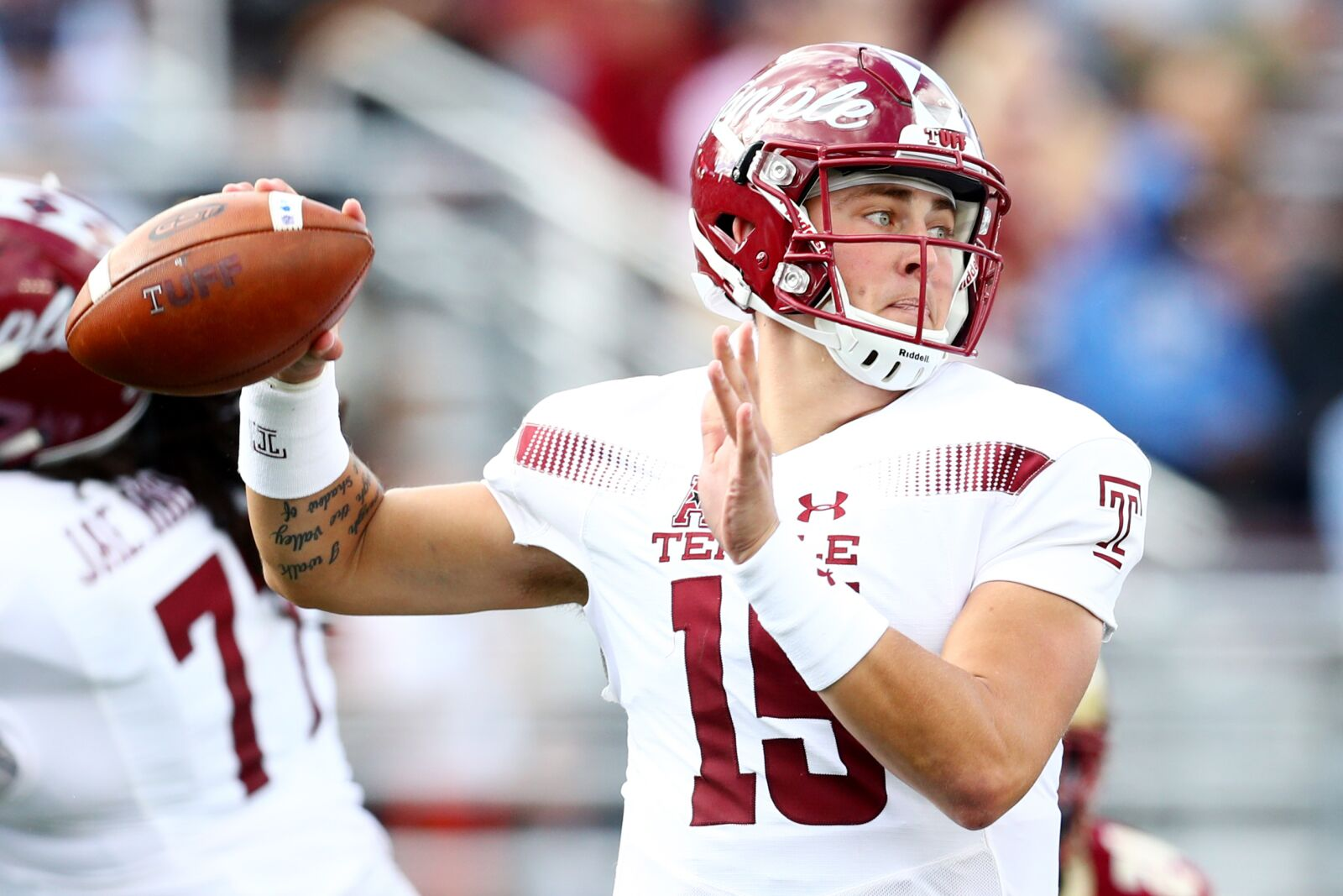 Temple Football  Anthony Russo growing pains will pay off long run ca52b5af3