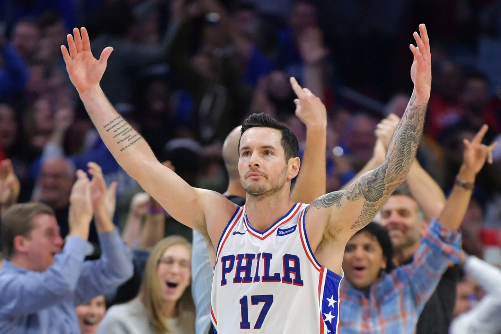 san francisco ae659 af240 Philadelphia 76ers: Don't count out J.J. Redick's star power