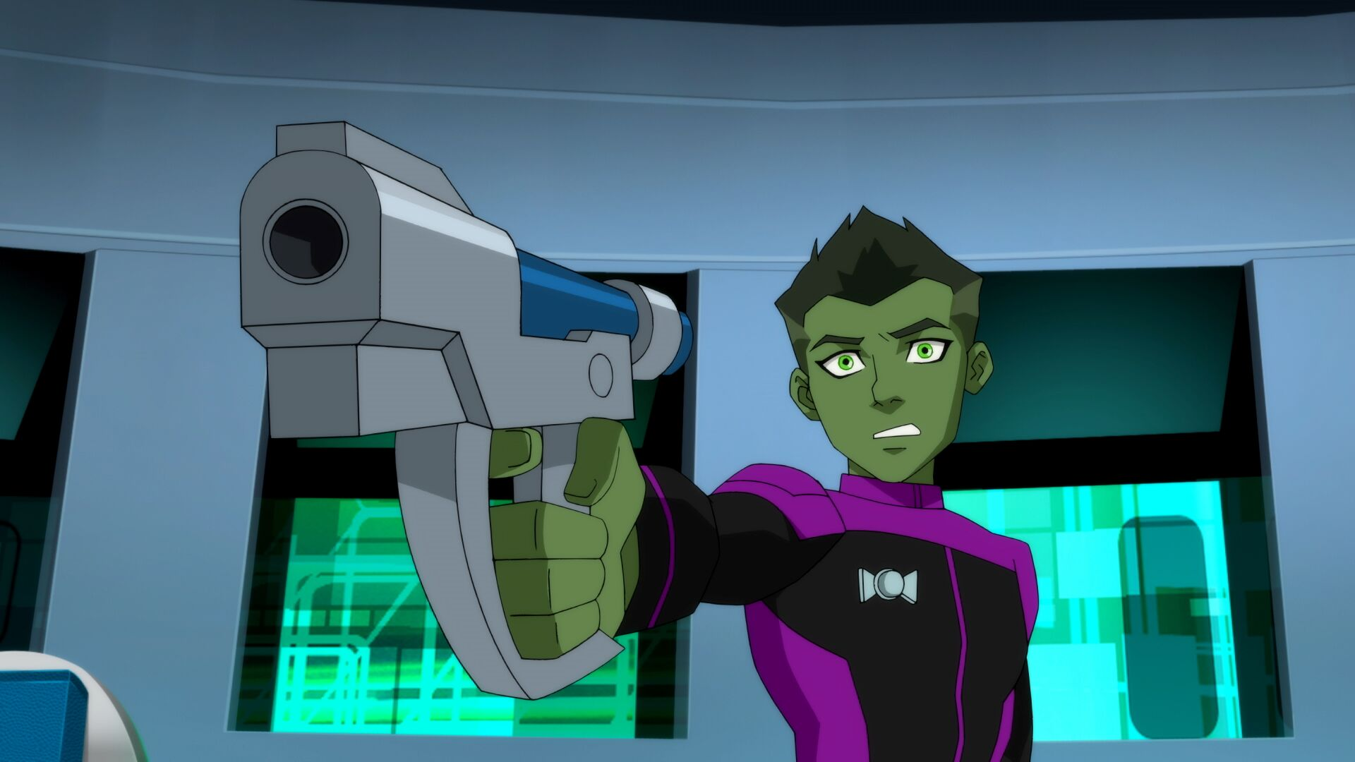 Beast Boy Young Justce: Outsiders