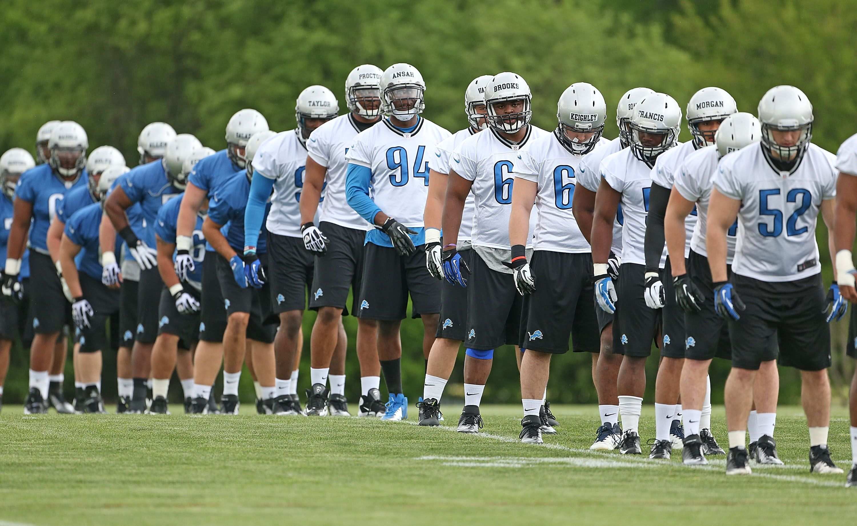 47bf917a The Detroit Lions fans' guide to attending training camp