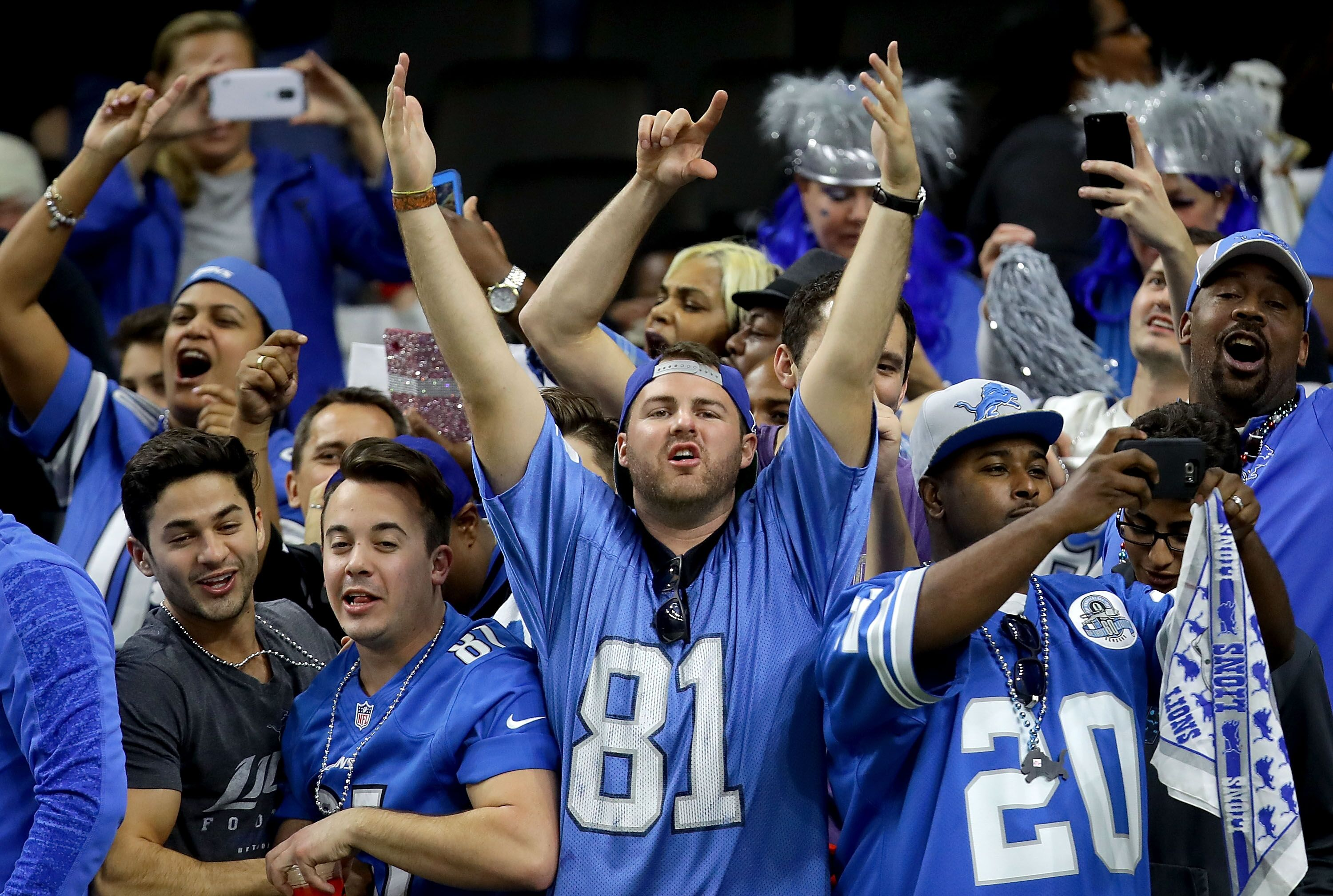 huge discount a7628 787f6 The art of being a Detroit Lions fan