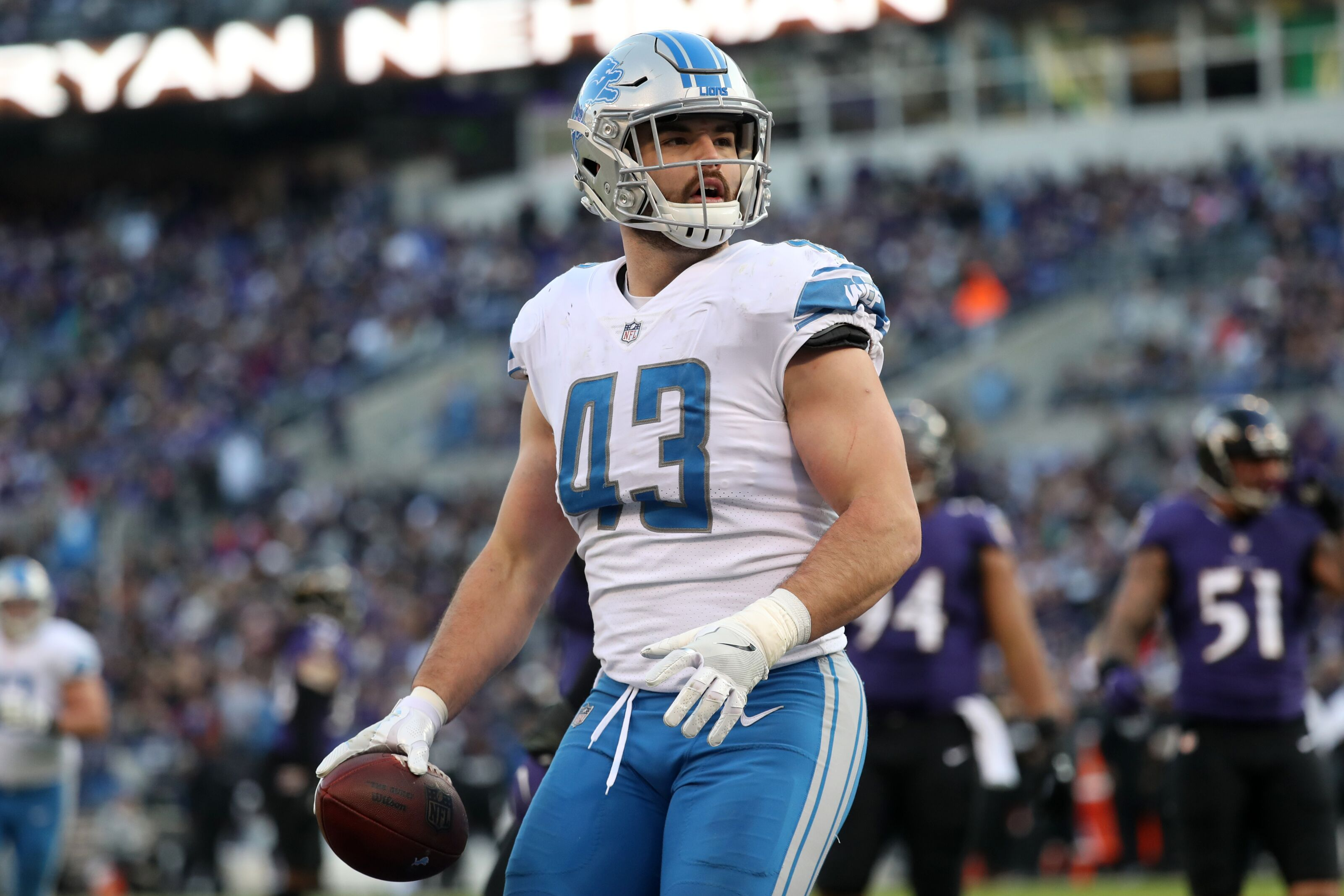 quite nice d08c5 e10a5 Detroit Lions in good hands with fullback Nick Bellore