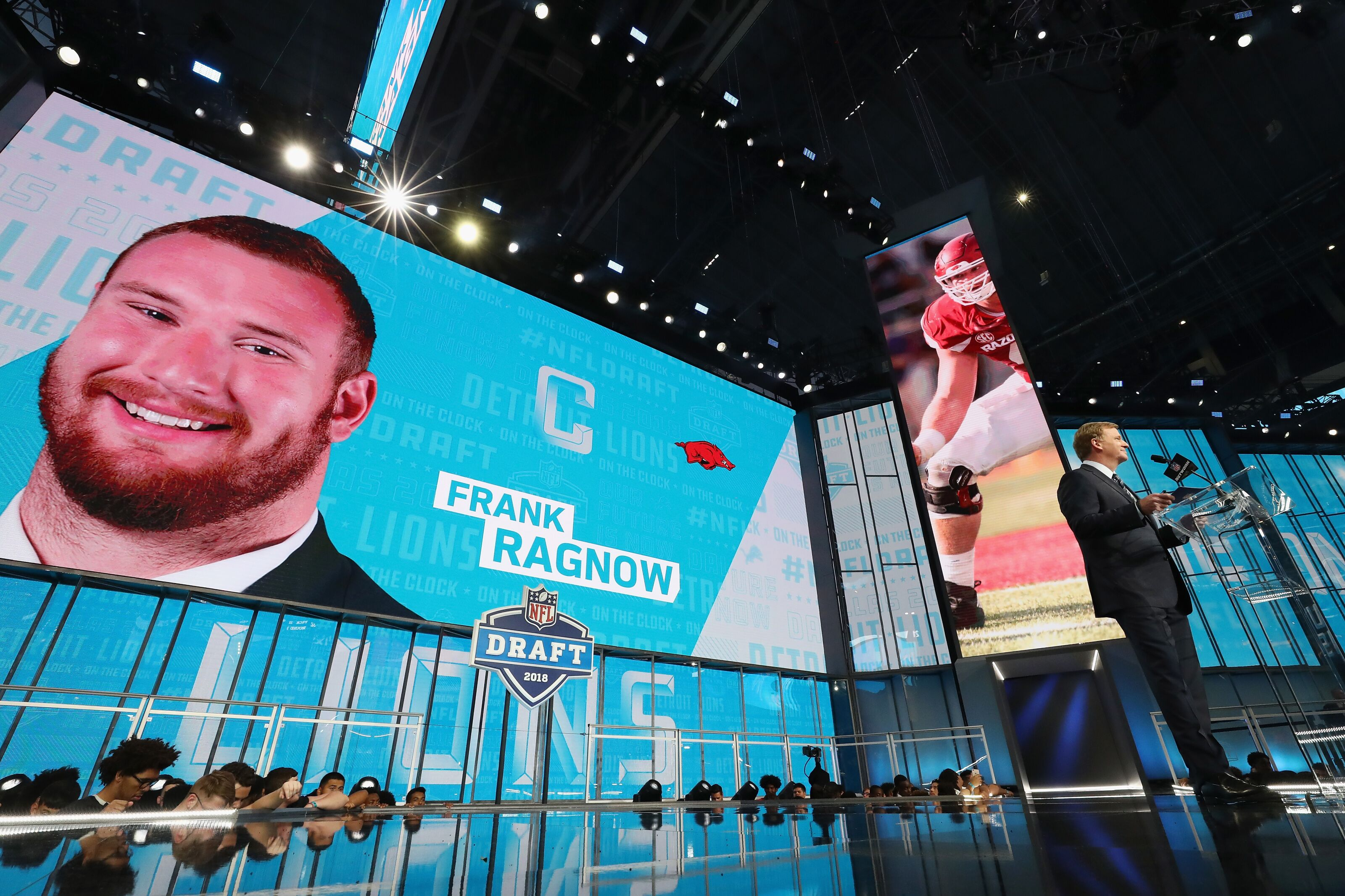 0016bc5ea Detroit Lions 2018 NFL Draft  First round analysis of Frank Ragnow
