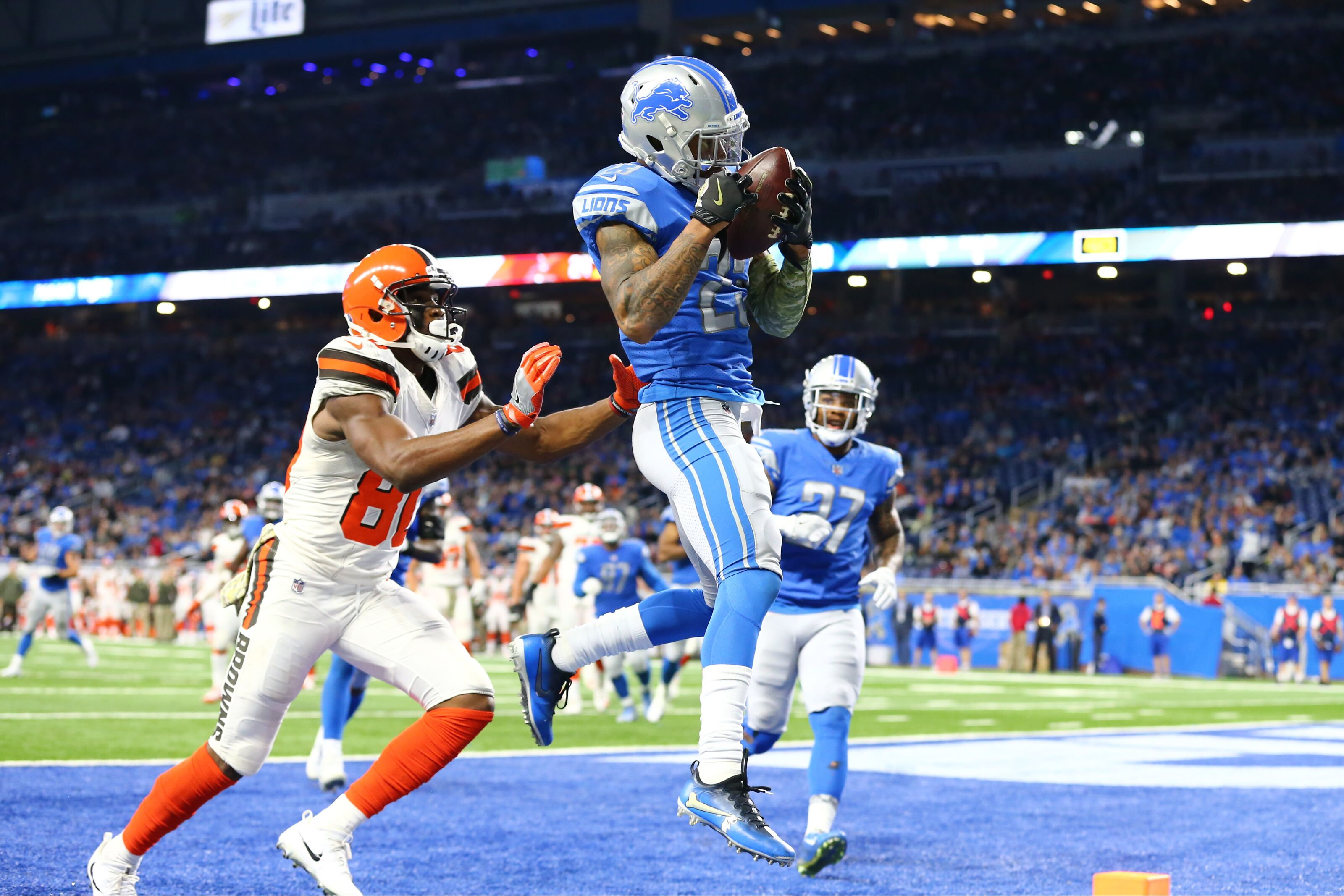 710ac7352a0 Detroit Lions  Keeping up with the Cleveland Browns
