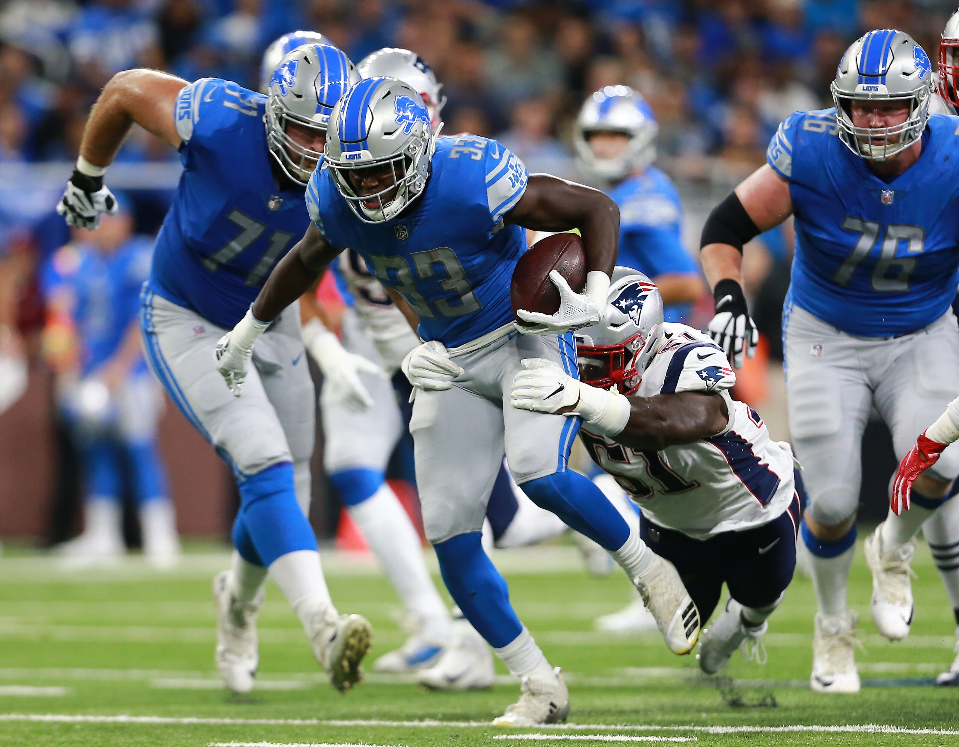 Detroit Lions  The search for Kerryon Johnson s ideal running mate 0365324e1