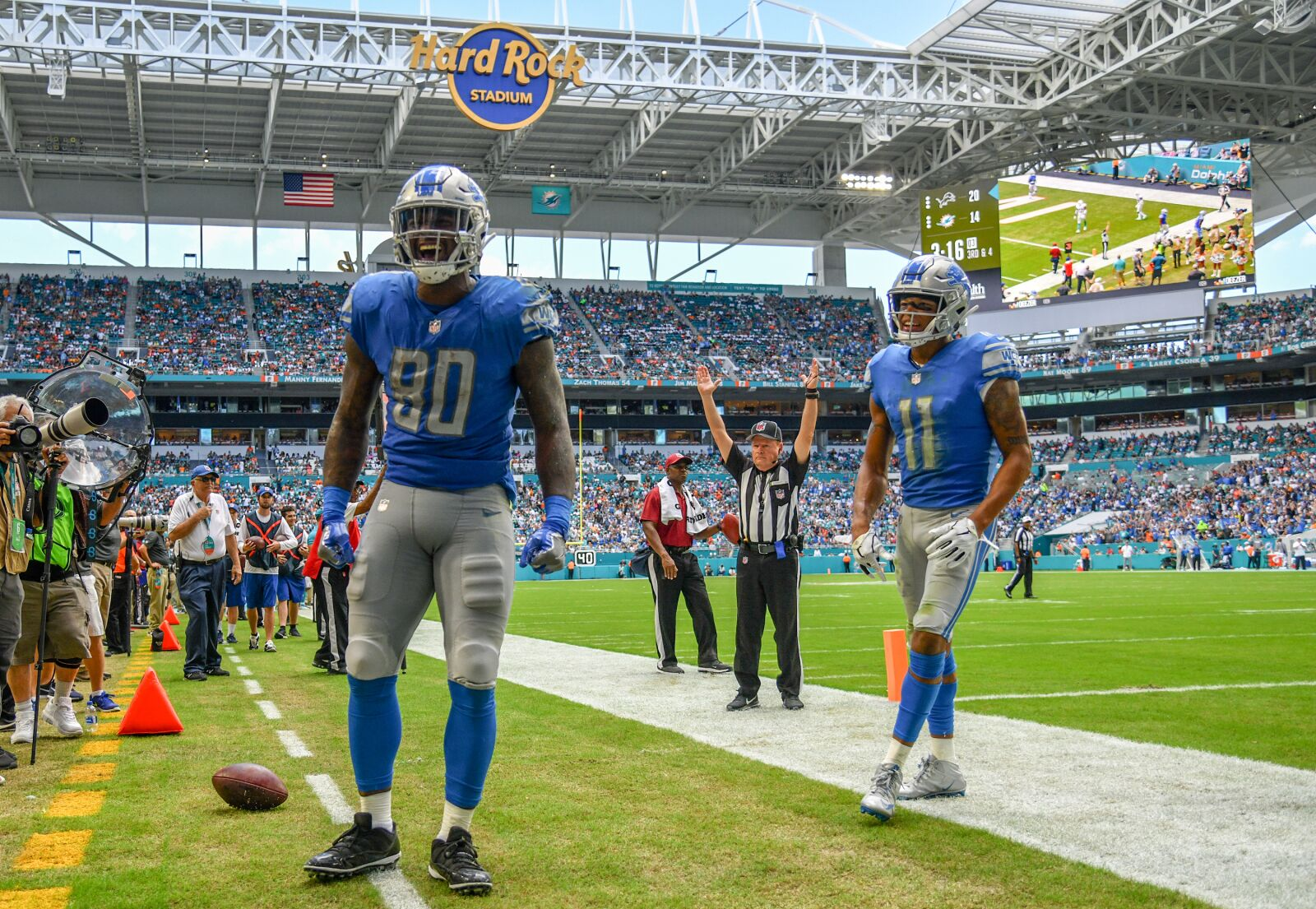 Detroit Lions: Michael Roberts trade illustrates tight end depth