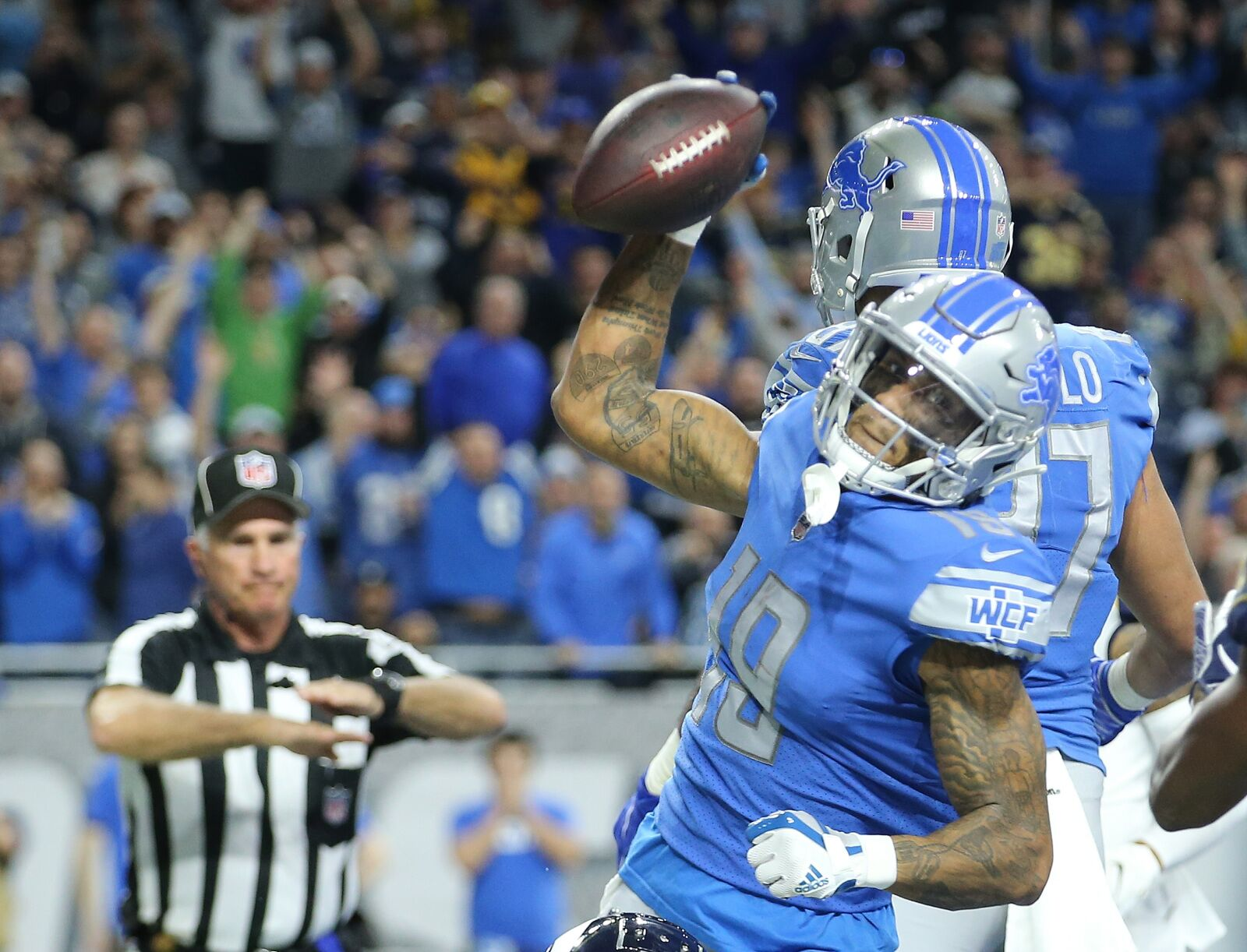 Kenny Golladay shines in Detroit Lions first win; Future Pro Bowler?